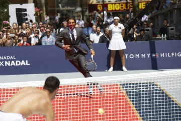 Rafael Nadal Tommy Hilfiger tennis event photo