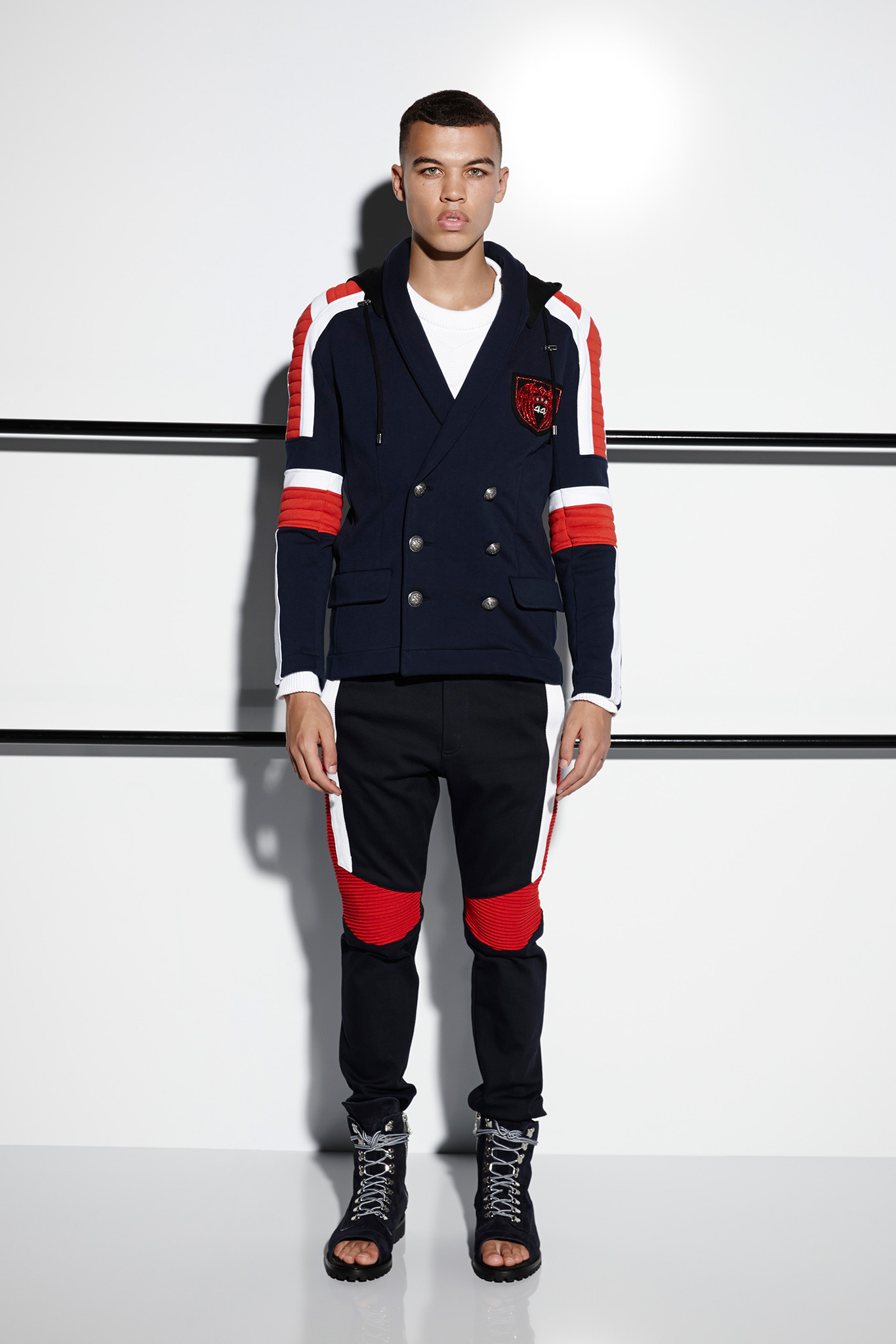 Balmain Clothing Balmain clothing for men captures a rebellious spirit and easy-going attitude. Established in , Balmain is a globally-celebrated French label, offering the most enviable selection of fashion pieces that will make anyone stand out from the crowd.
