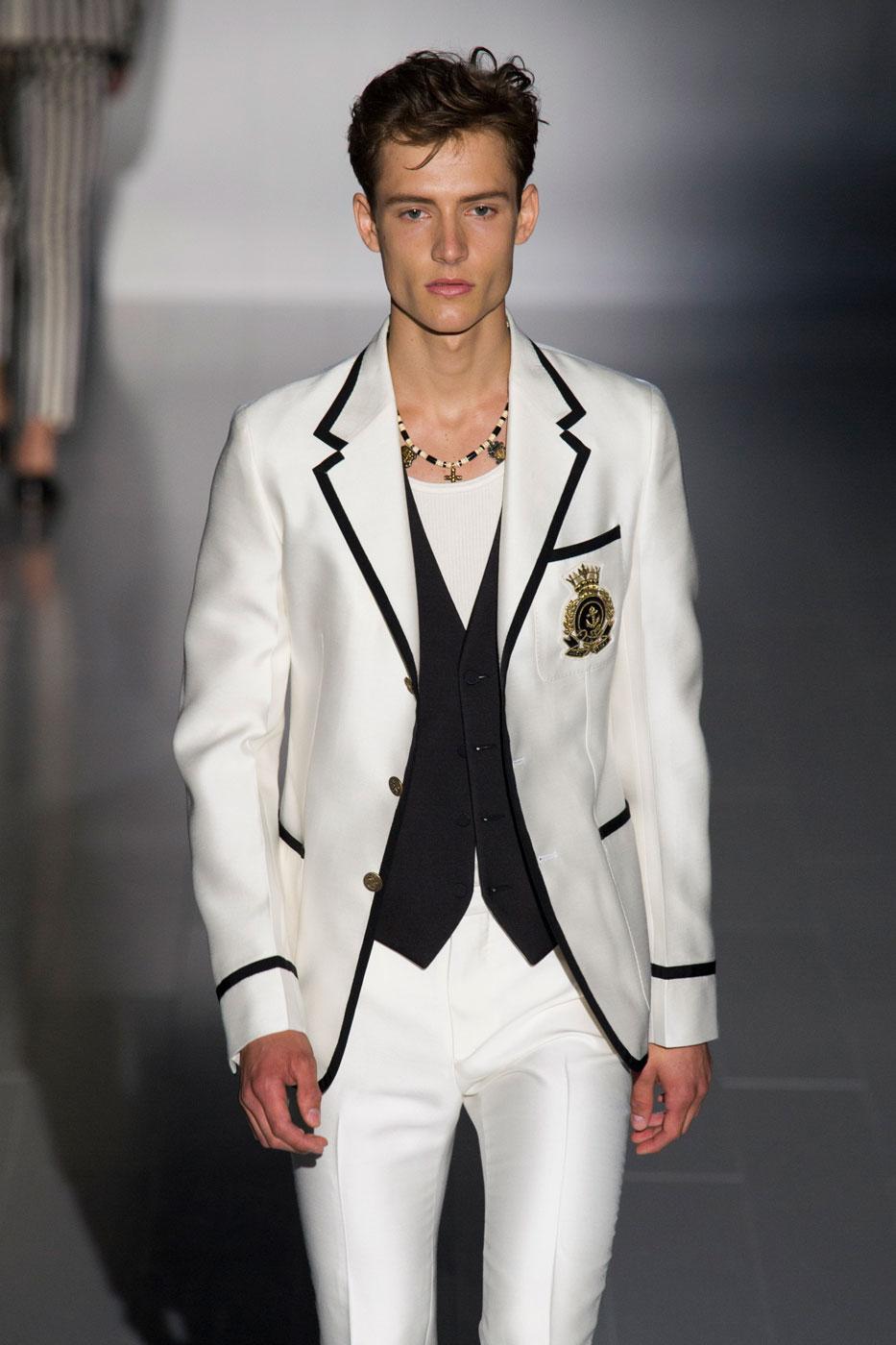 Gucci Men S Spring 2015 Fashion Show