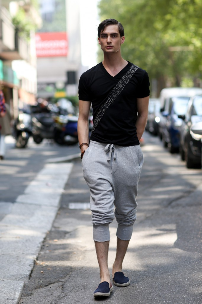 Street Style at Fashion Week in Milan Men