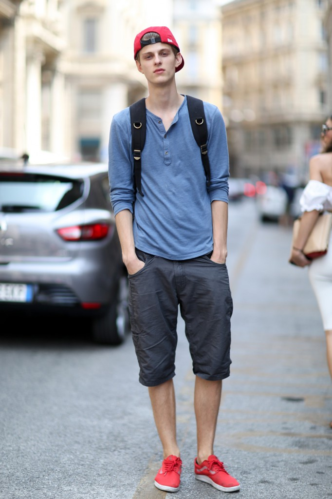 The Best Of Street Style From Milan Men 39 S Spring 2015 Shows Day 2