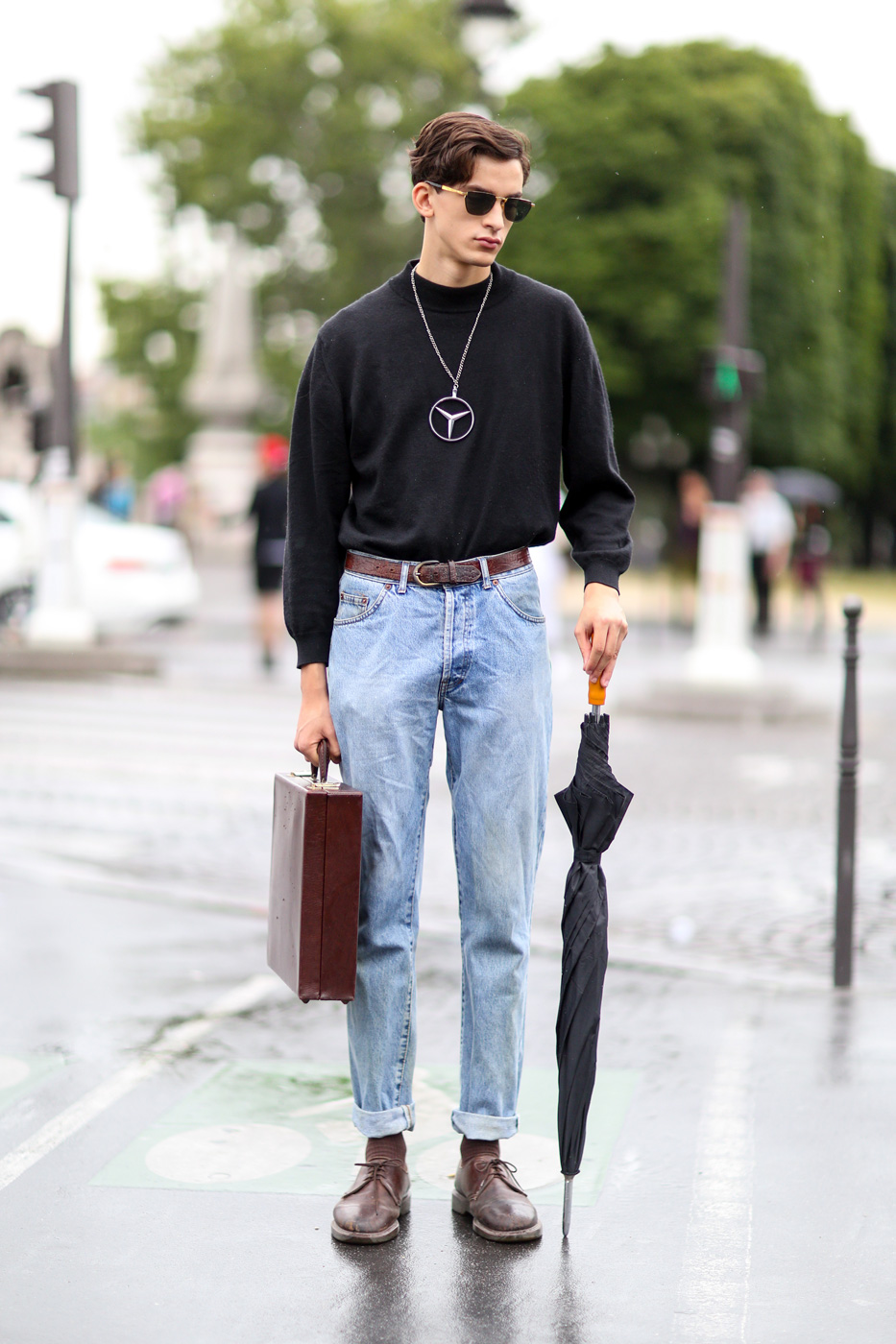 The Best Of Paris Men 39 S Fashion Week Street Style Day 4