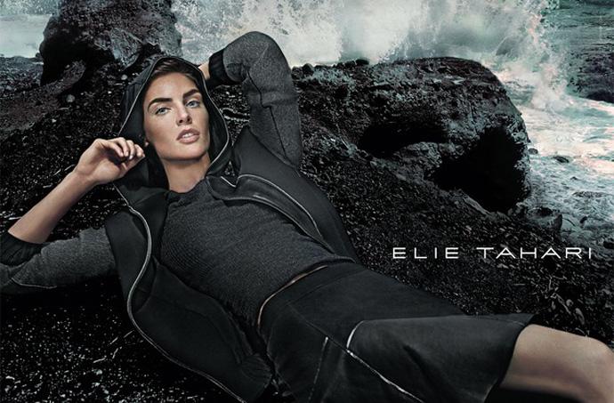 elie-tahari-fall-2014-ad-campaign-Hilary Rhoda-by-Steven-Klein