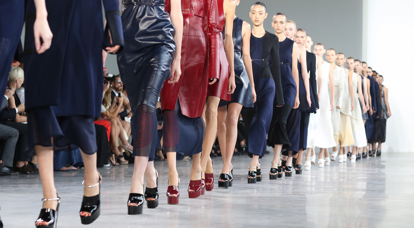 Calvin Klein Spring 2015 Fashion Show The Impression