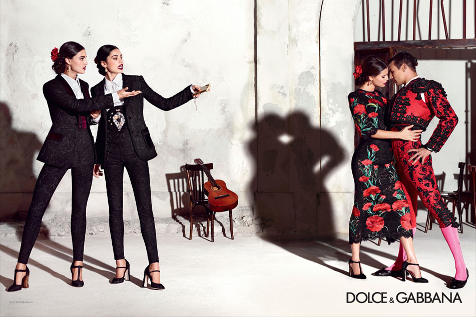 Dolce-Gabbana-spring-2015-the-impression-4