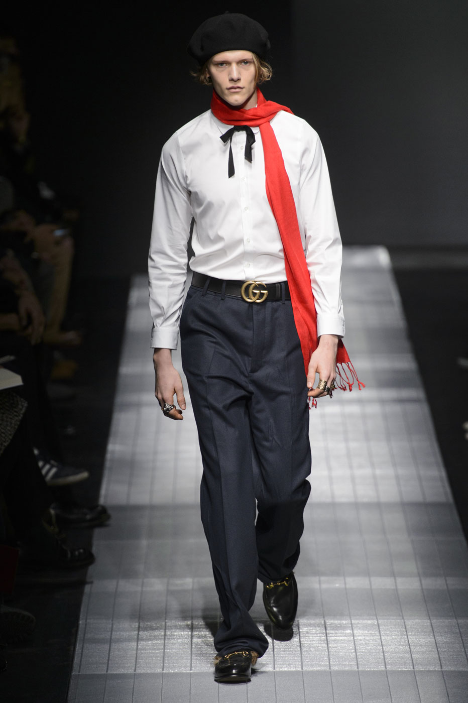 Gucci Men Fashion Show 2015 gucci mens fall milan