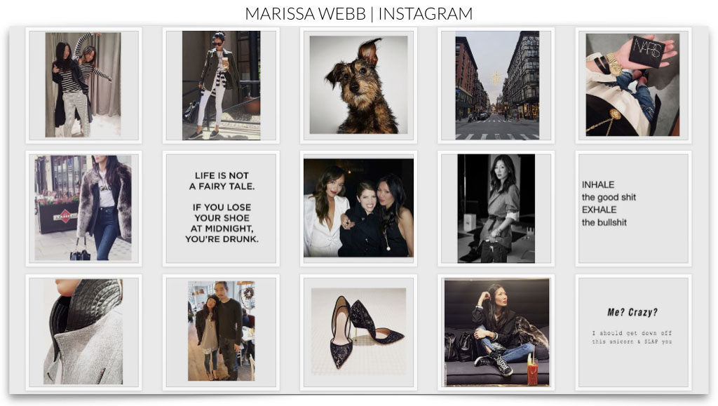 Marissa Webb instagram