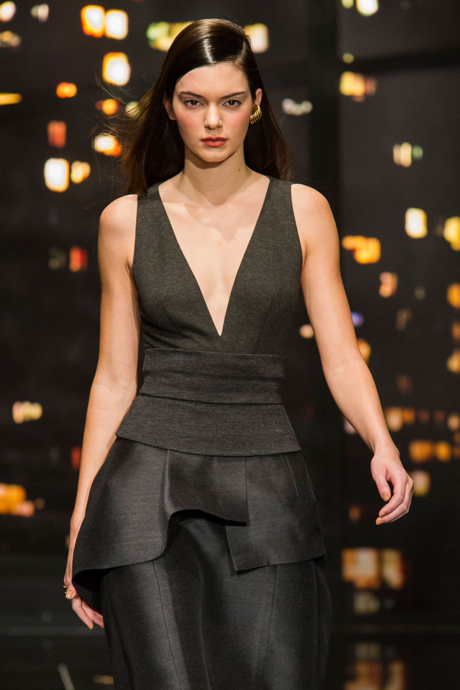donna karan fall 2015 fashion show. Black Bedroom Furniture Sets. Home Design Ideas