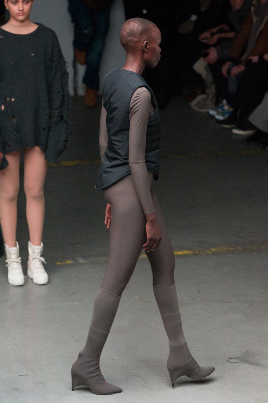 kanye west and adidas originals fall 2015 fashion show