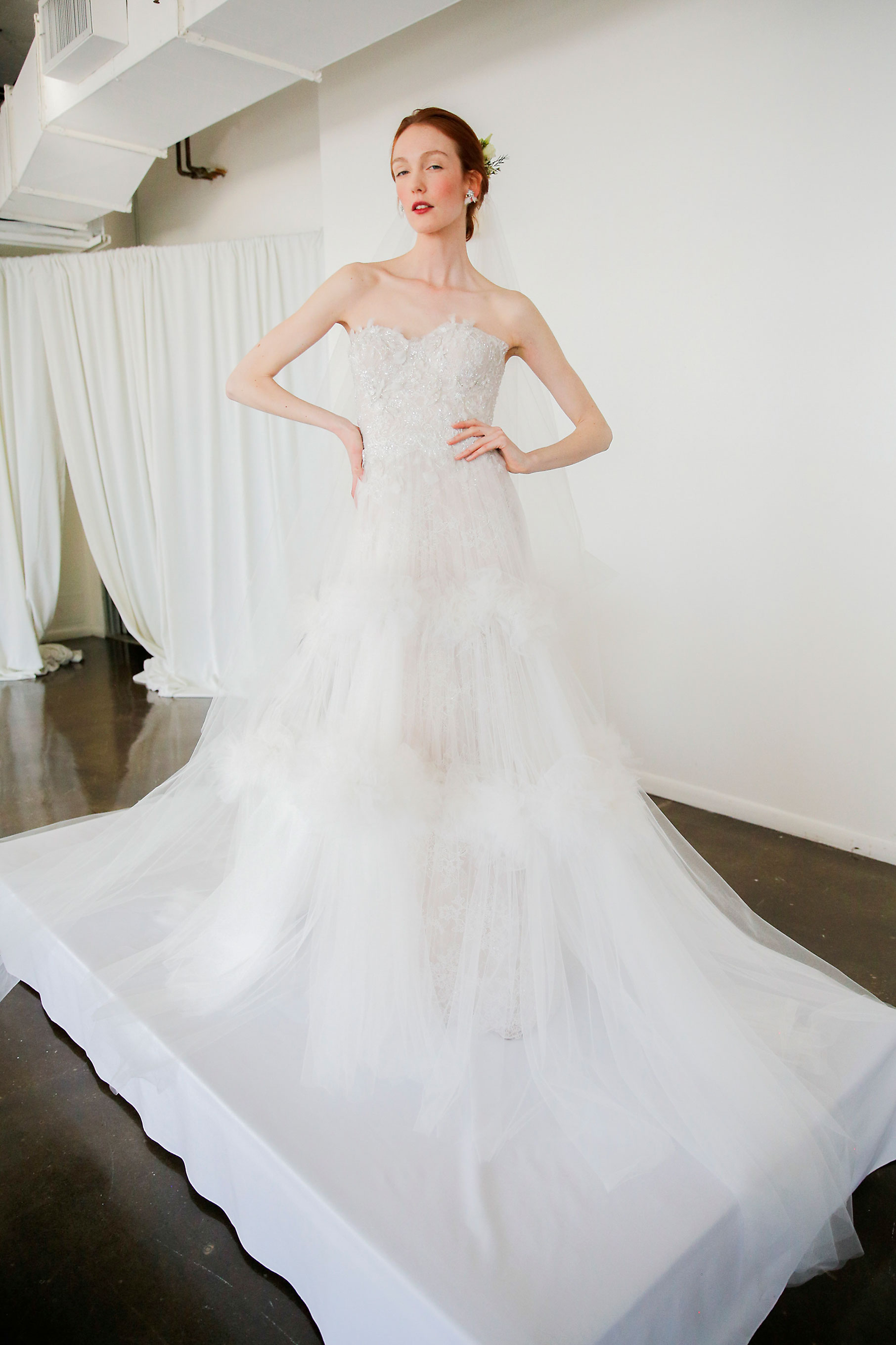 marchesa bridal spring fashion show marchesa wedding dresses Marchesa brd S17 Marchesa brd S17