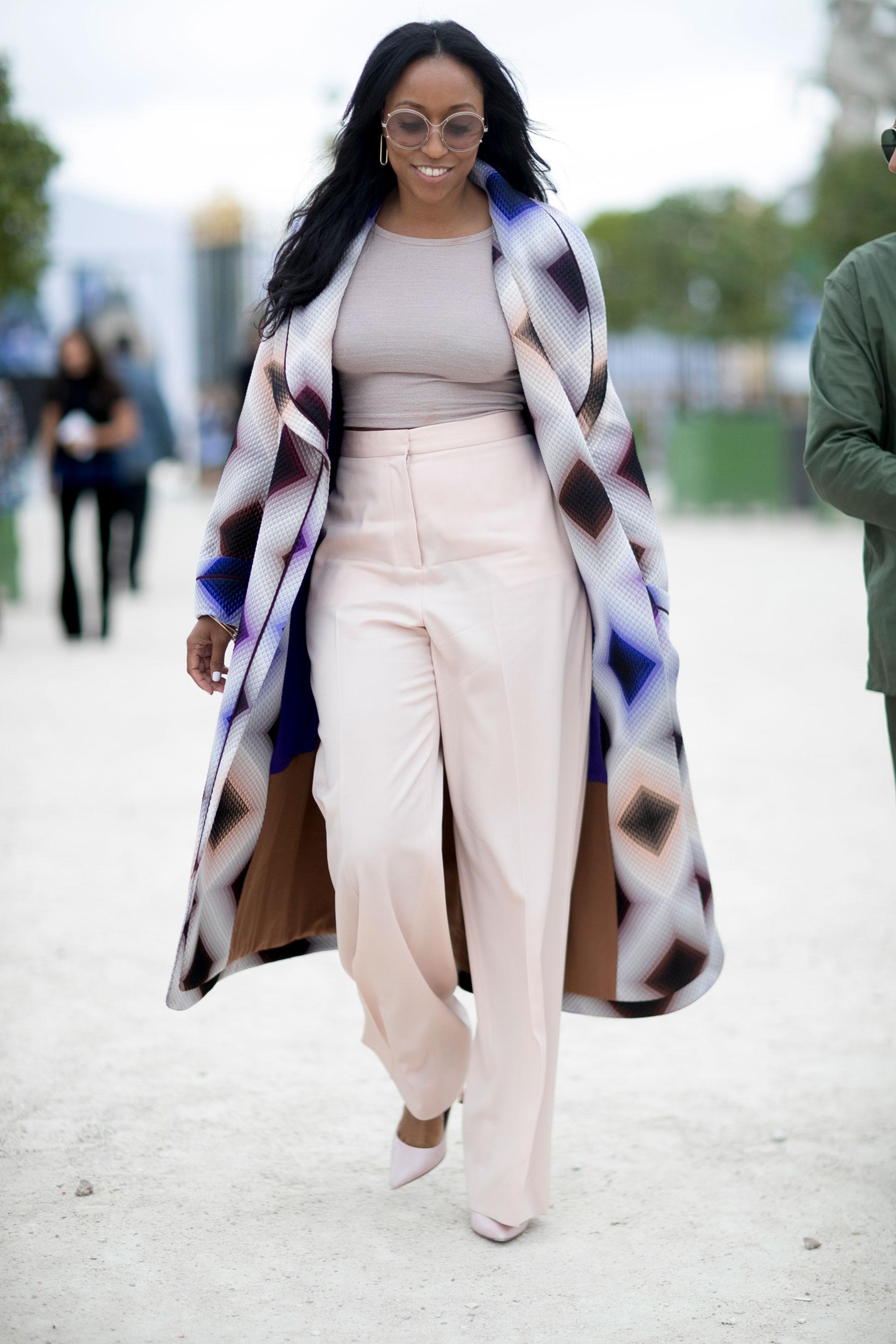 Paris Fashion Week Street Style Spring 2017 Day 3