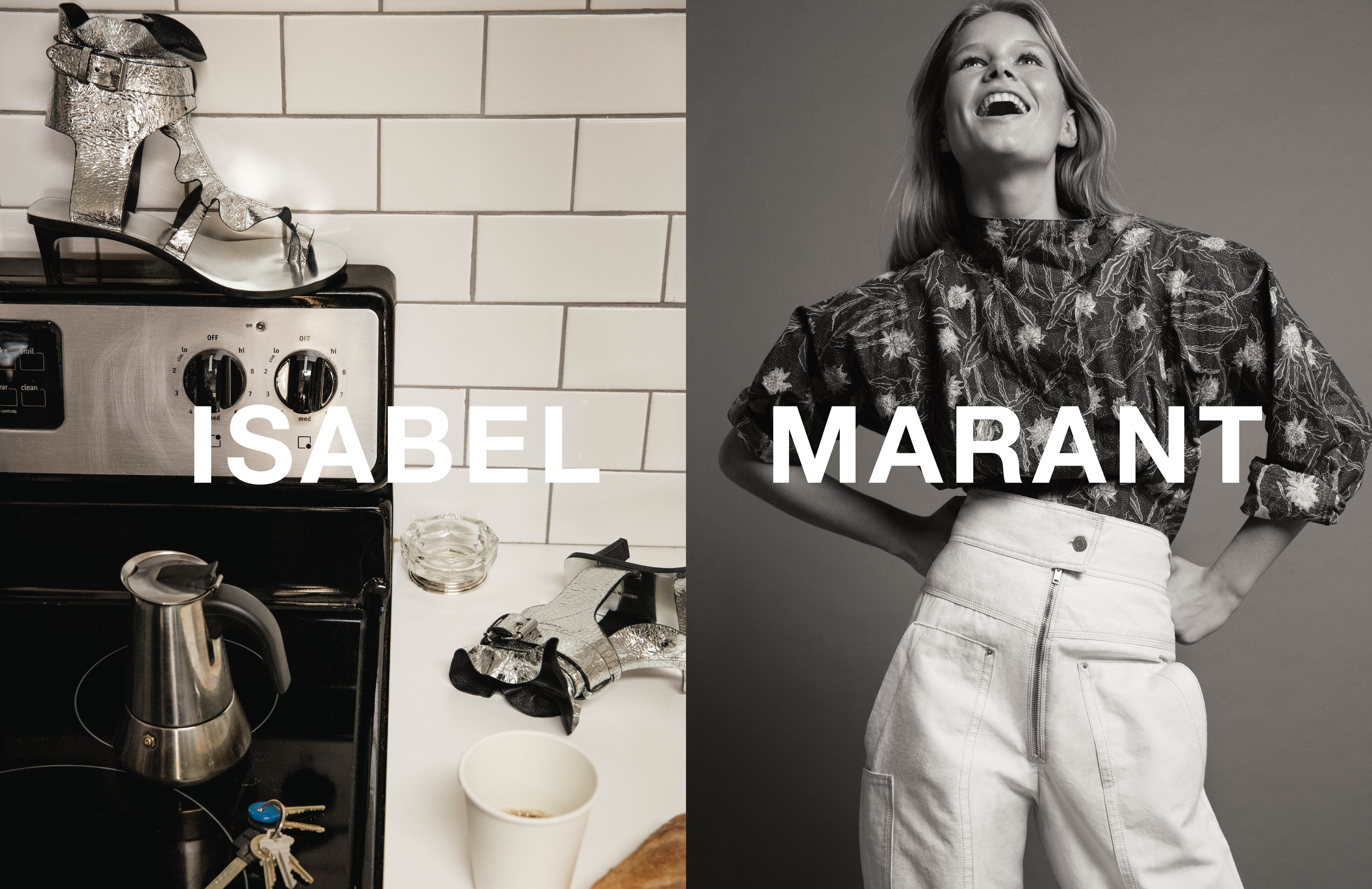 Isabel Marant Spring 2017 Ad Campaign