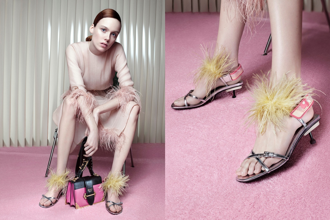 prada shoes latest collection versace 2018 campaign