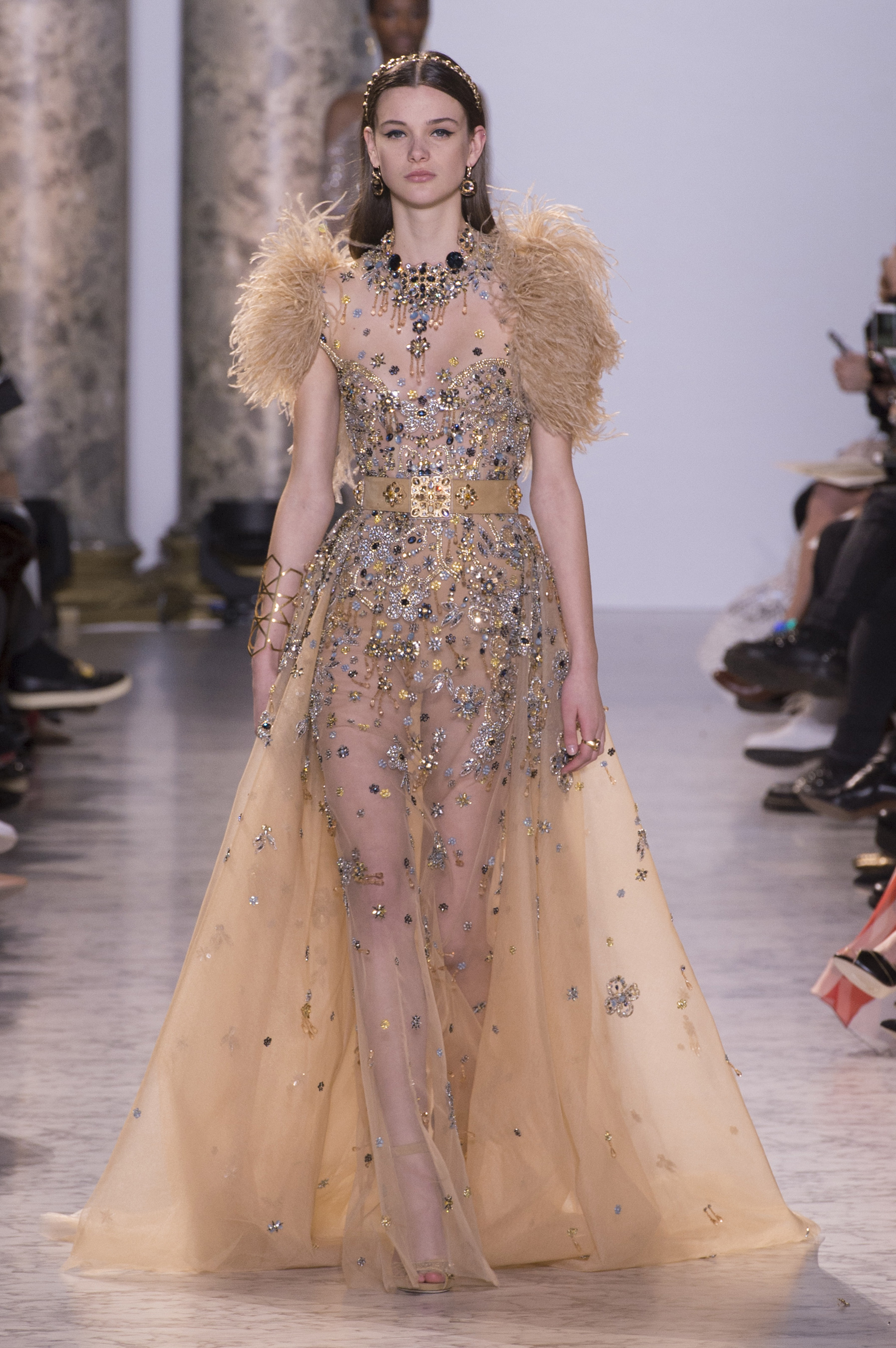 Elie saab spring 2017 couture fashion show the impression for Couture clothing