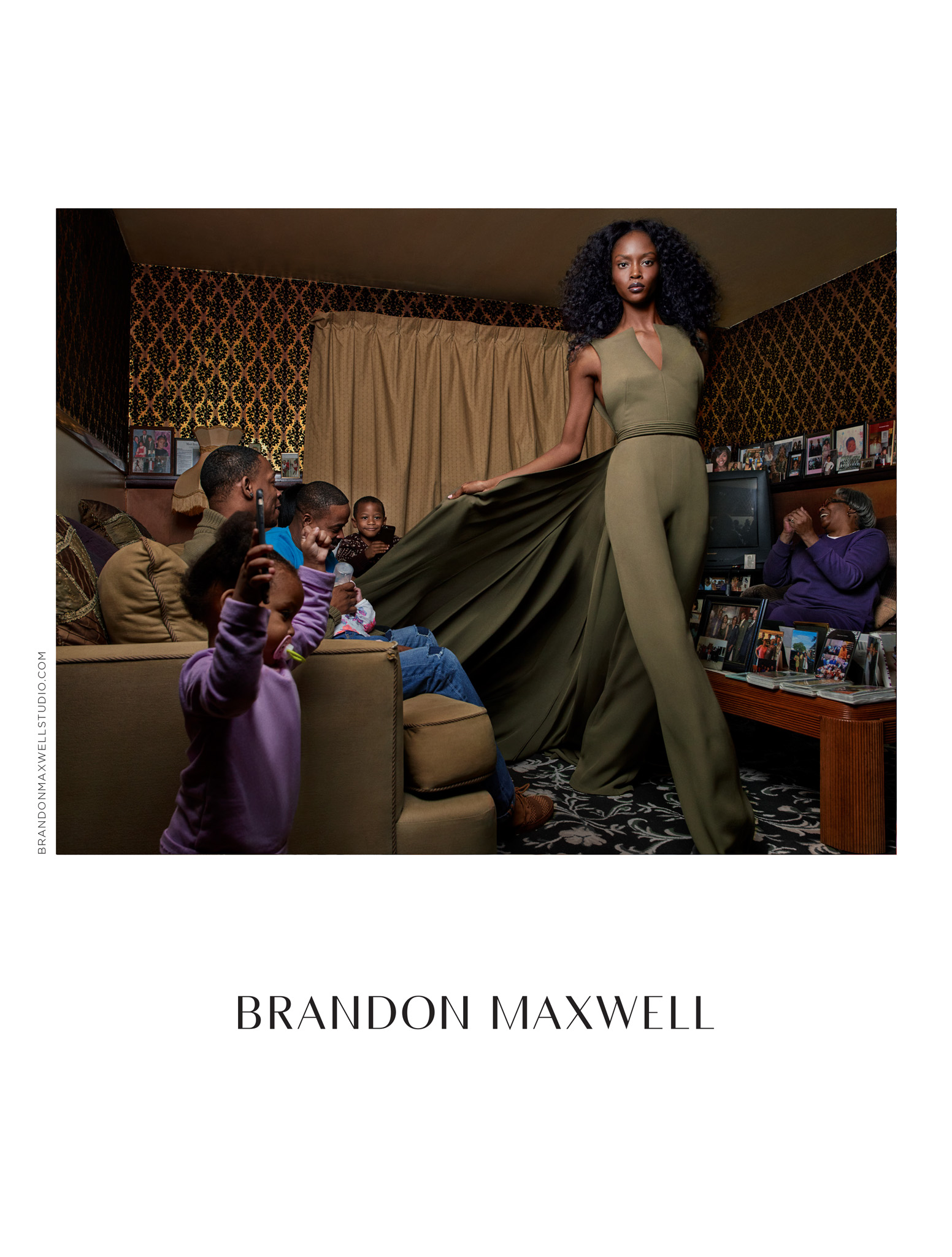 Brandon Maxwell Spring 2017 Ad Campaign