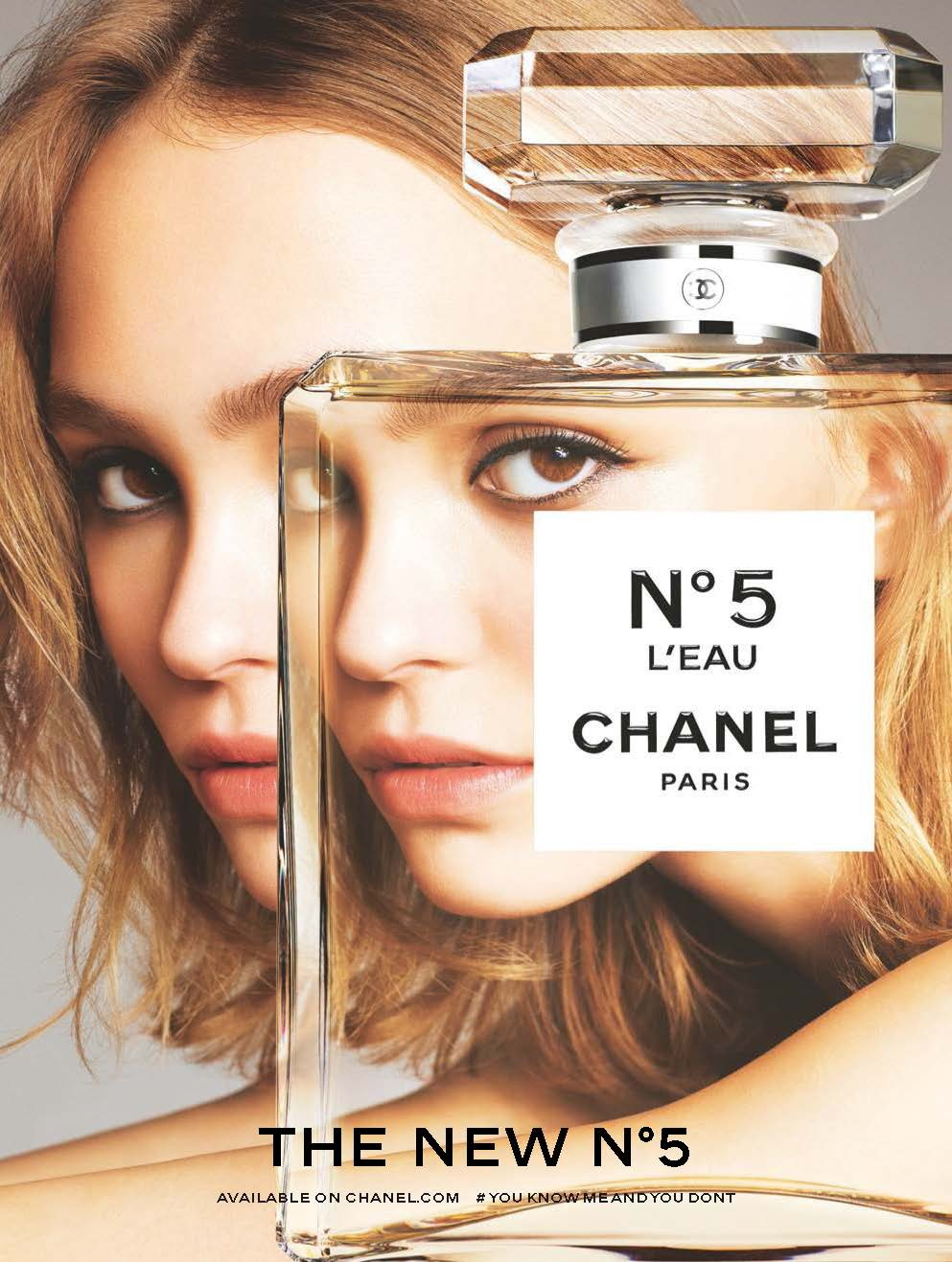 Chanels No 5 Leau Fragrance Campaign With Lily Rose Depp