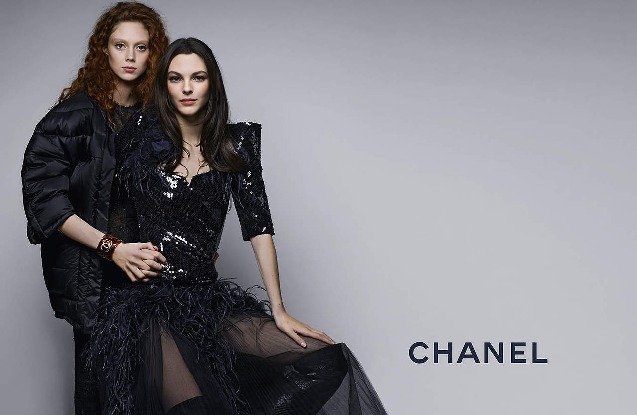 Chanel's Pre-Fall 2019 Campaign Features Natalie Westling Vittoria Ceretti Chanel's Pre-Fall 2019 Campaign Features Natalie Westling Vittoria Ceretti new pics