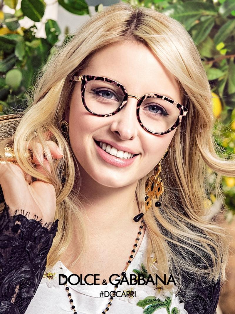 88347dffb2 Dolce   Gabbana s Eyewear Spring 2017 Ad Campaign