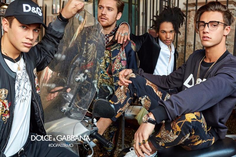 Dolce & Gabbana Fall 2017 Ad Campaign