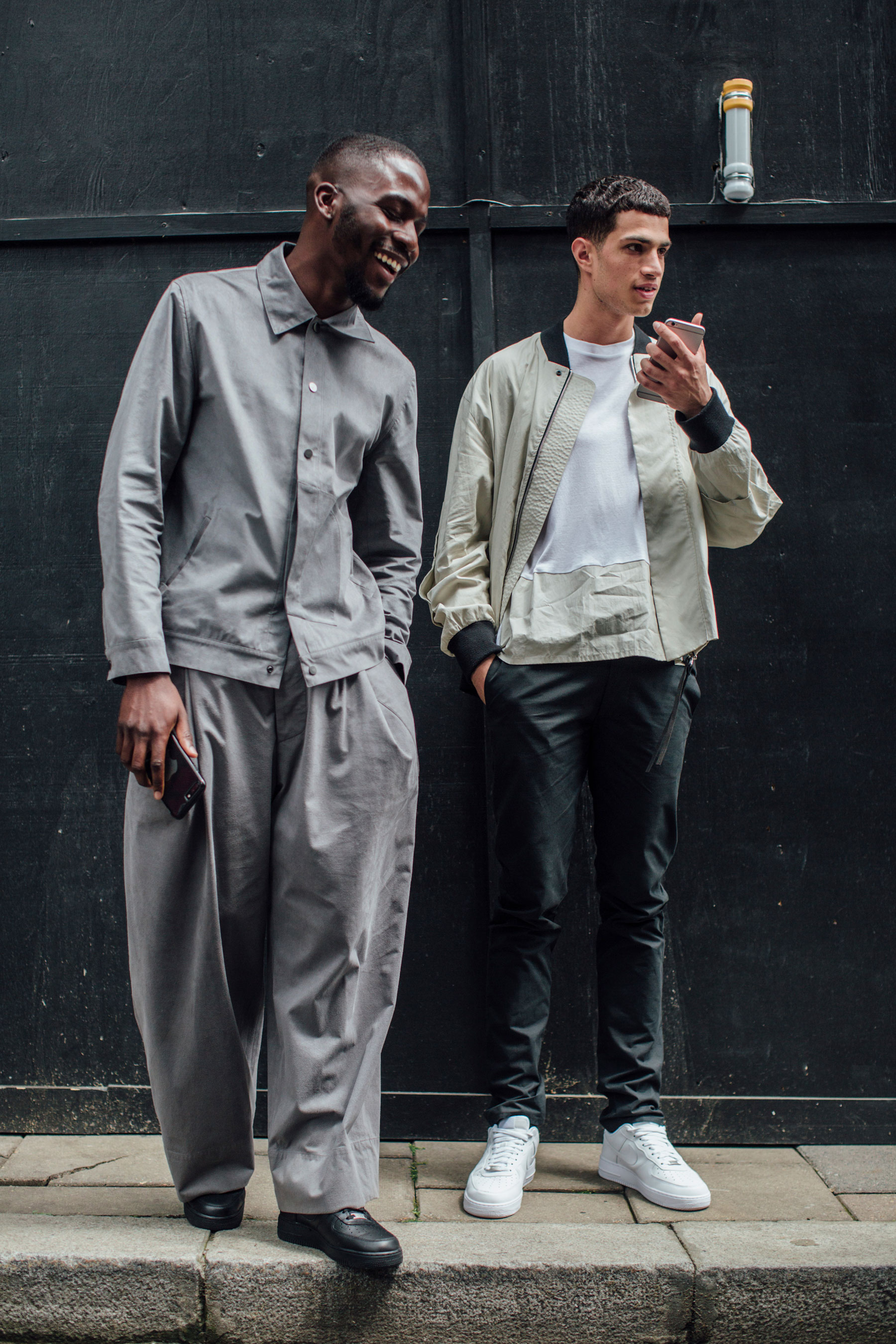 7a3a0fa7d443 London Fashion Week Men s Street Style Day 1 Spring 2018