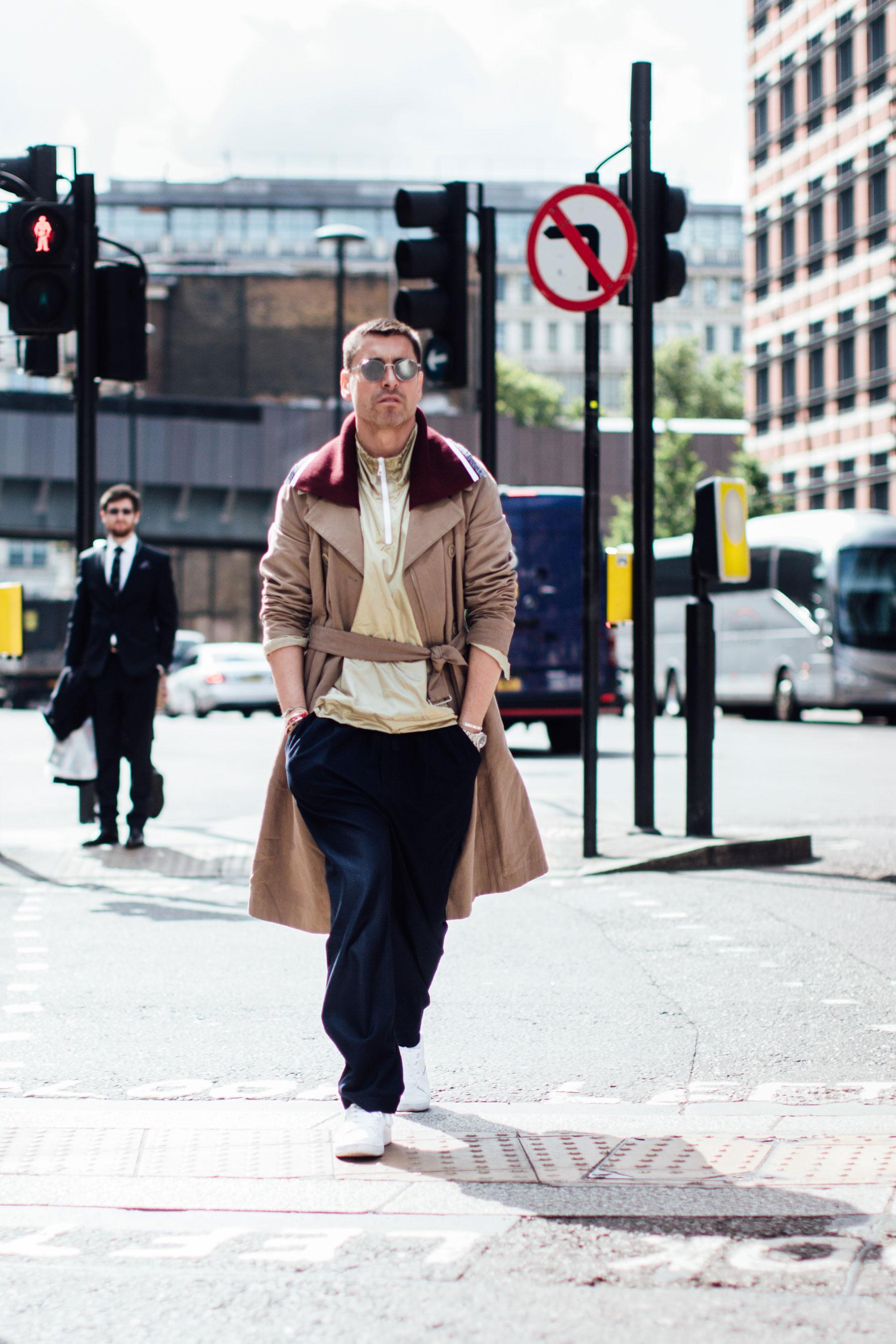 London Fashion Week Men's Street Style Day 1 Spring 2018