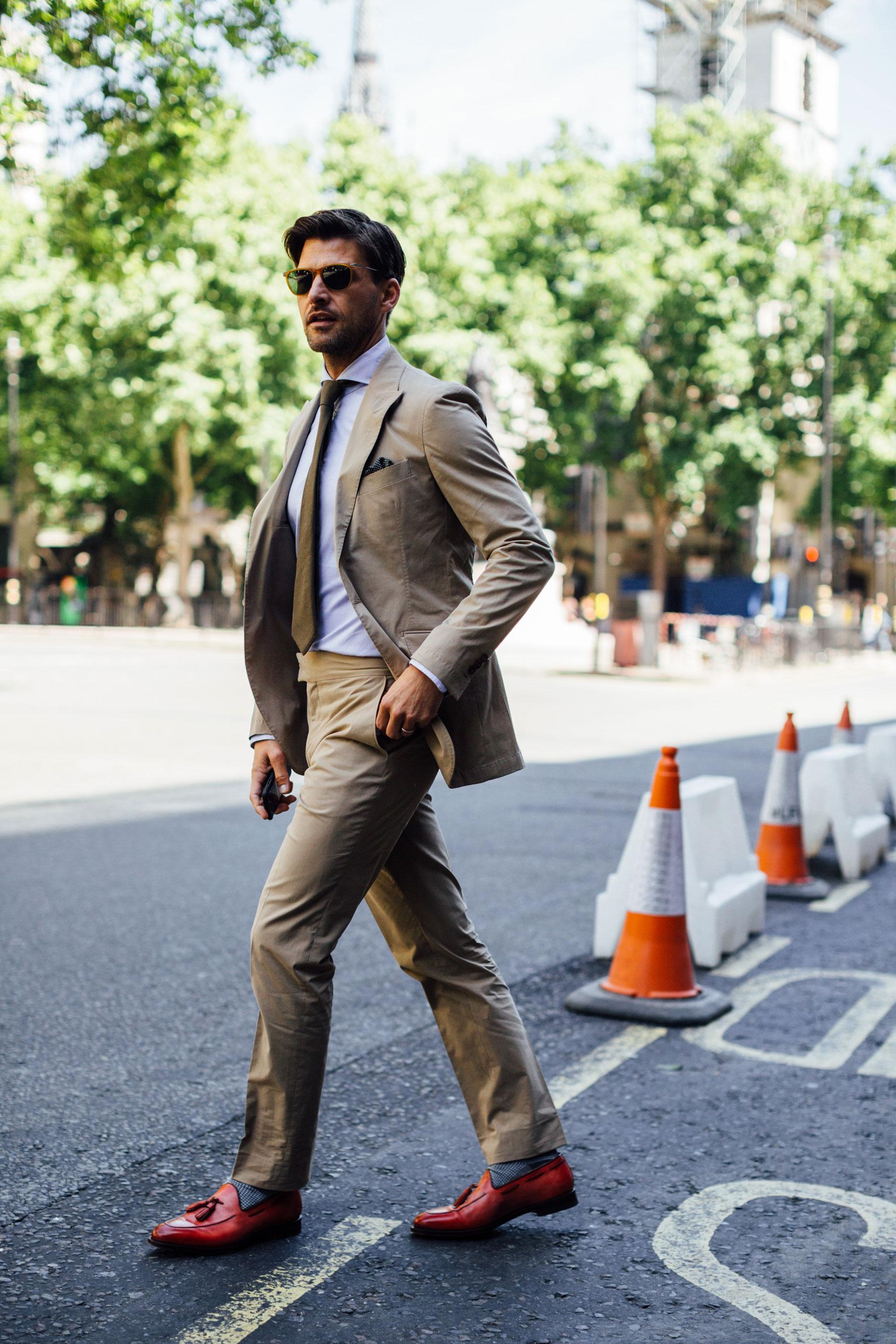 London Fashion Week Men's Street Style Spring 2018 Day 3