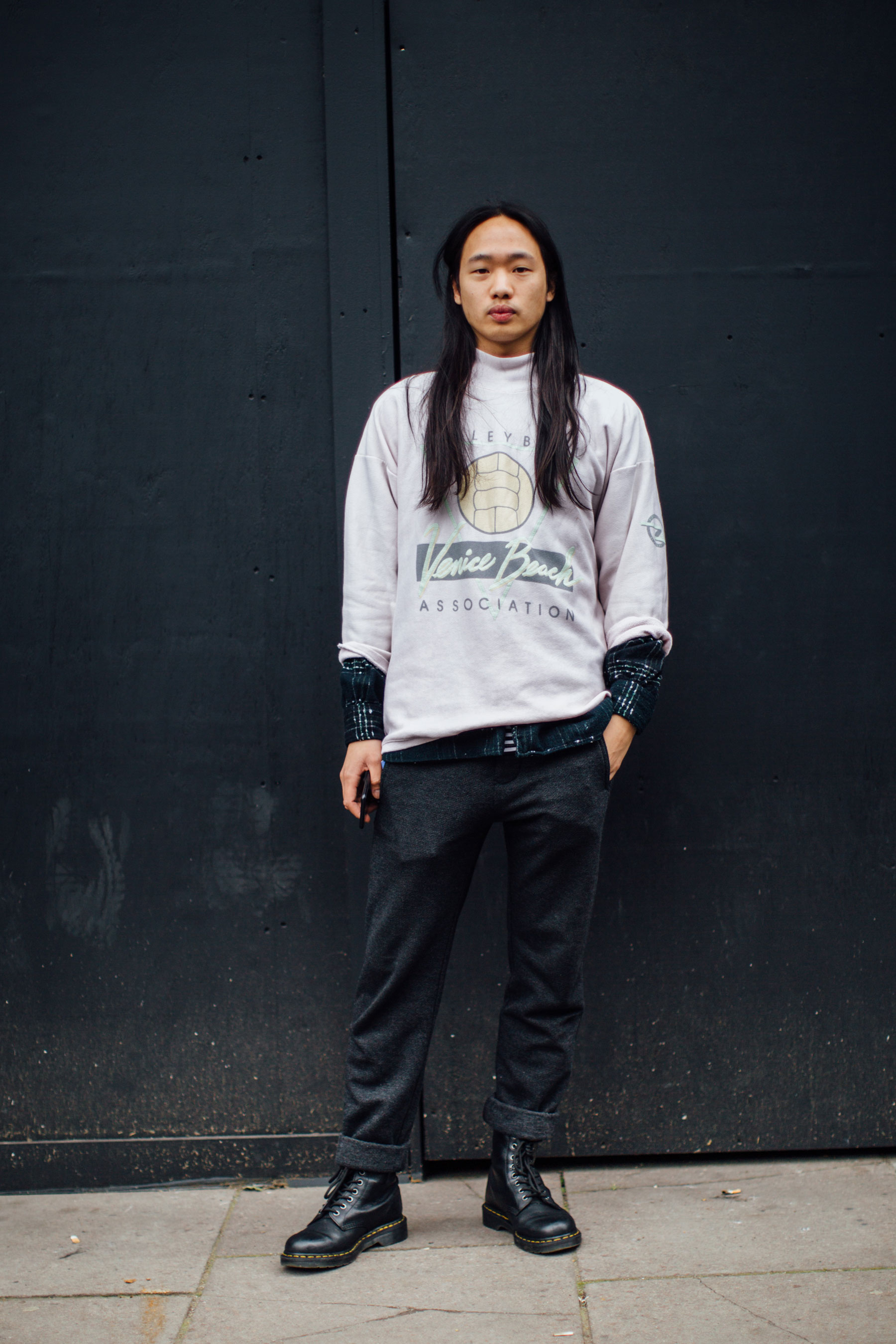 London Fashion Week Men 39 S Street Style Spring 2018 Day 4 The Impression