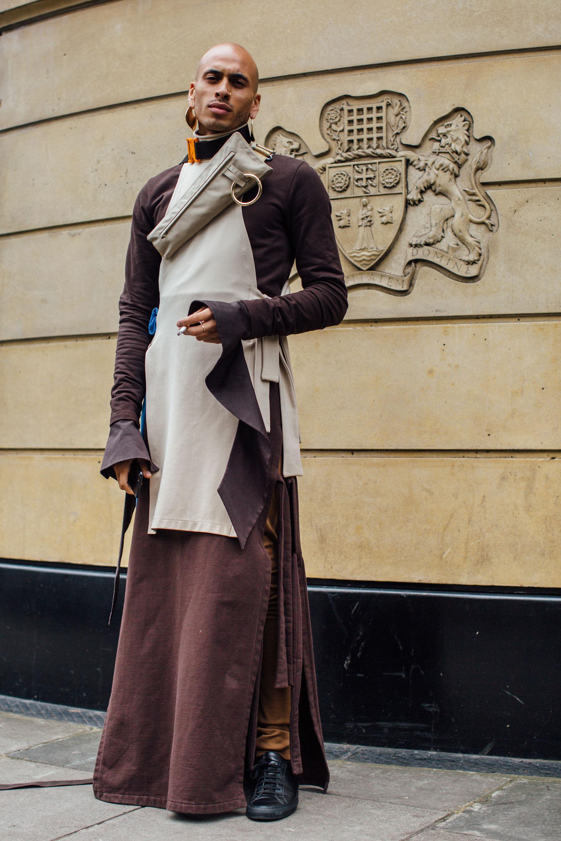 London Fashion Week Men's Street Style Spring 2018 Day 4