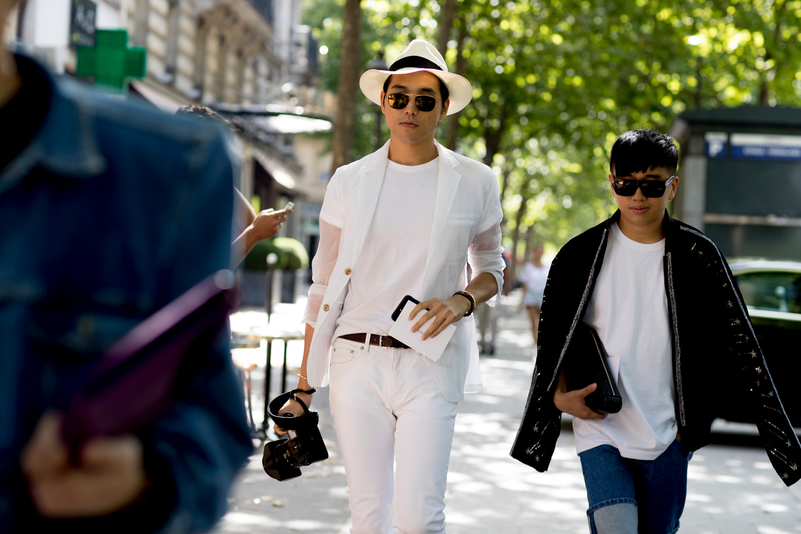 Paris Fashion Week Men's Street Style Spring 2018 Day 4