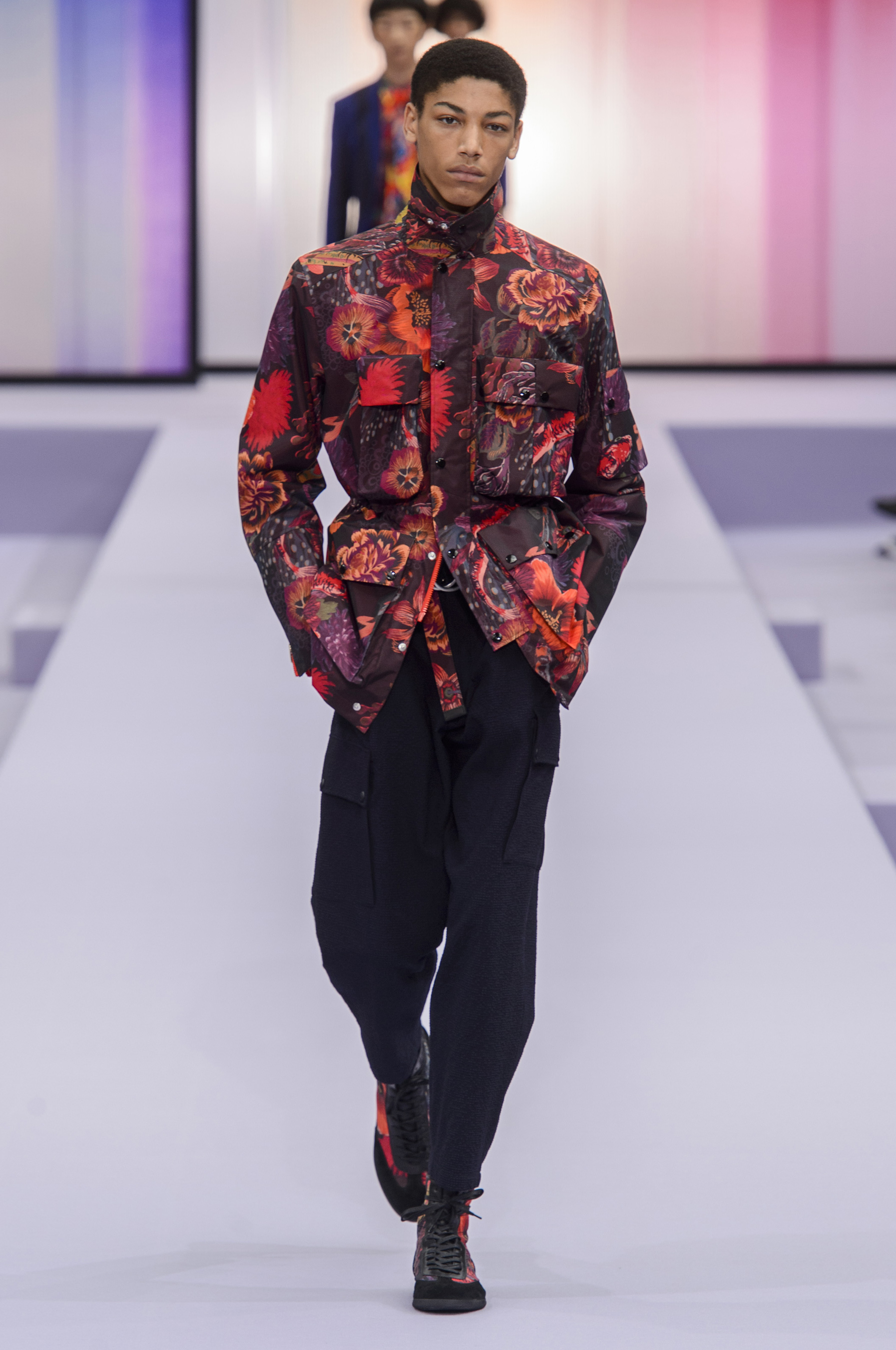 Fashion style Smith paul mens spring runway for girls