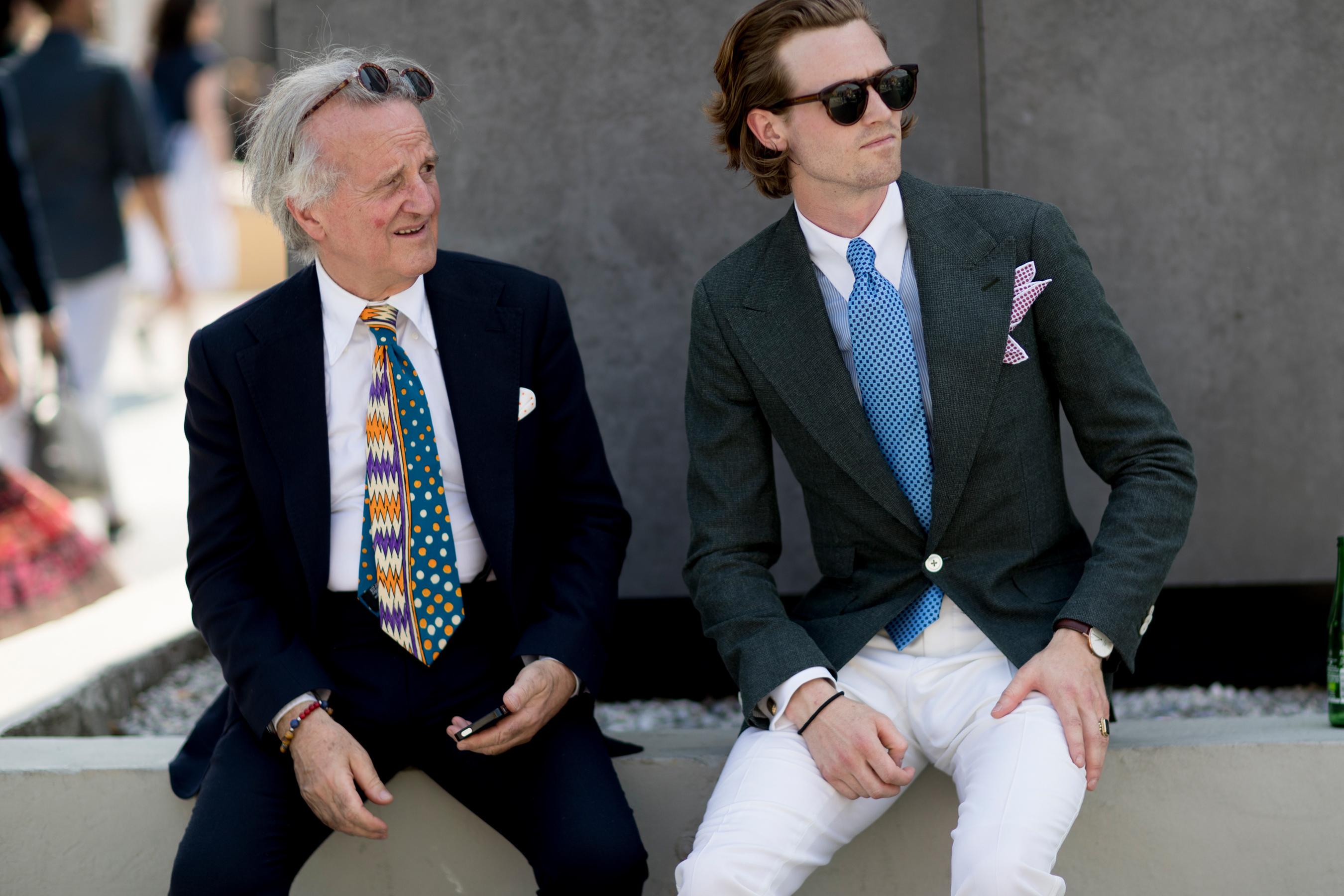 Firenze Pitti Uomo Fashion Week Men's Street Style Spring 2018 Day 2