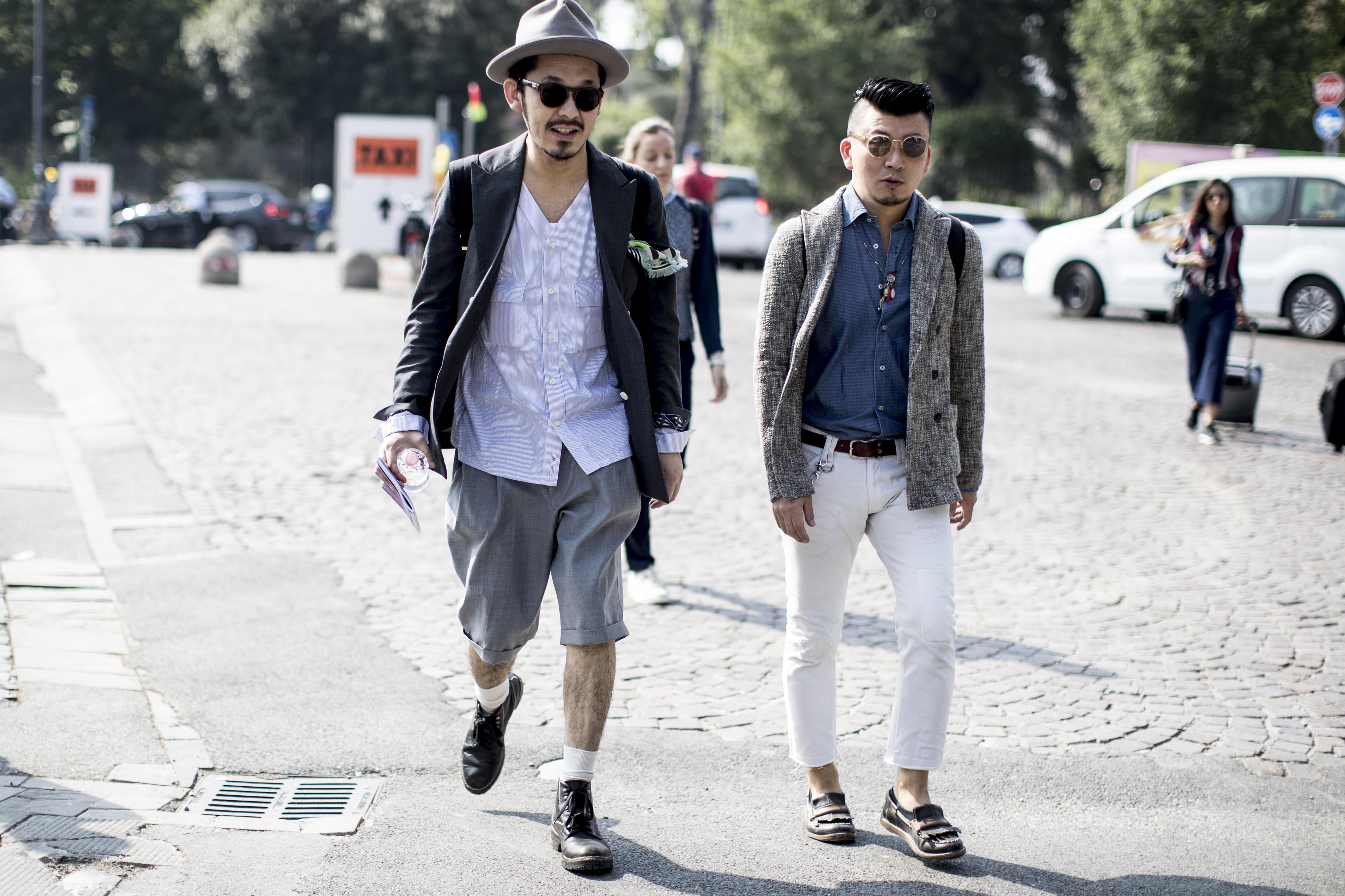 Firenze Pitti Uomo Fashion Week Men's Street Style Spring 2018 Day 4