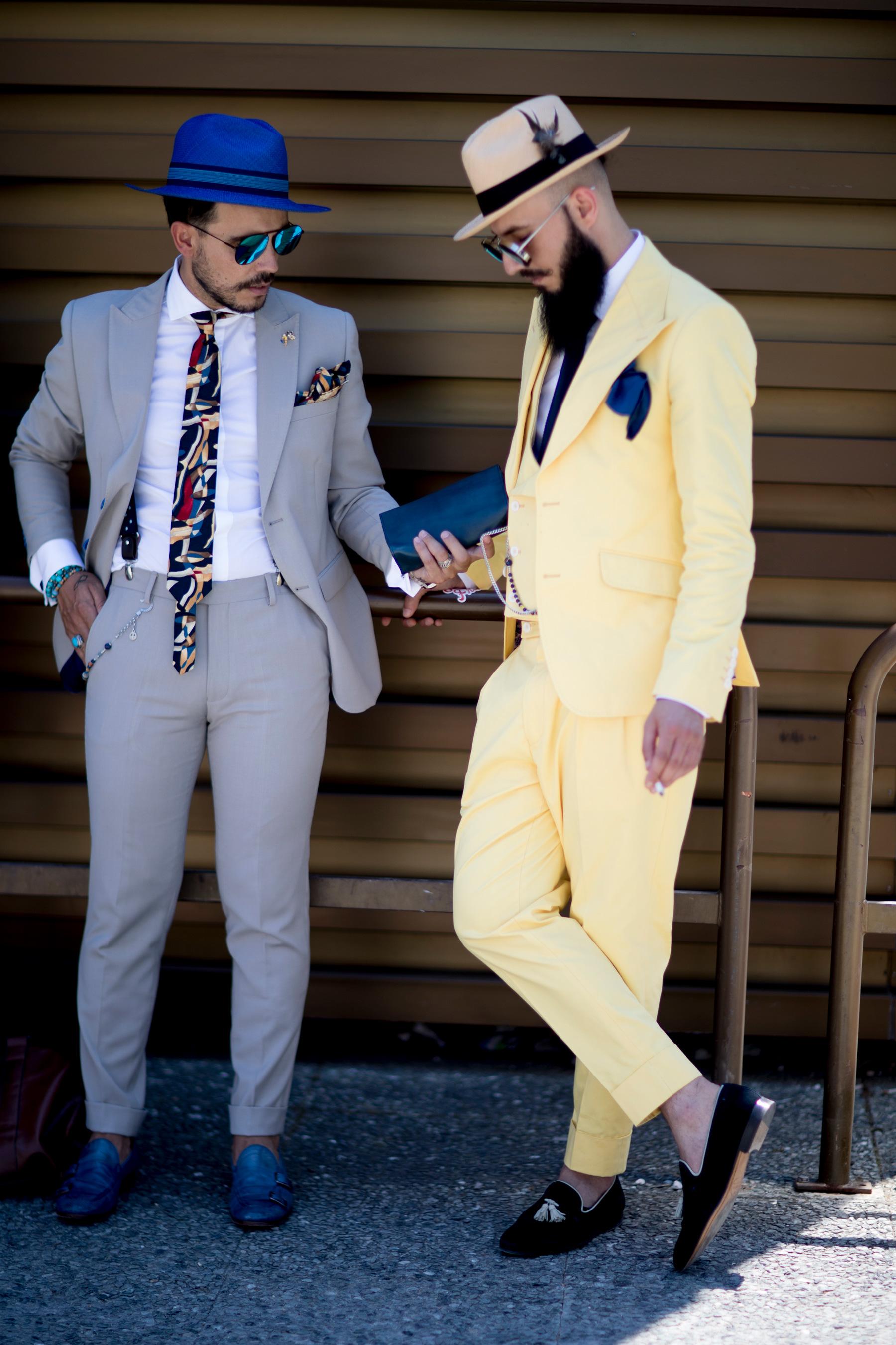 Firenze Pitti Uomo Fashion Week Men's Street Style Spring 2018 Day 1