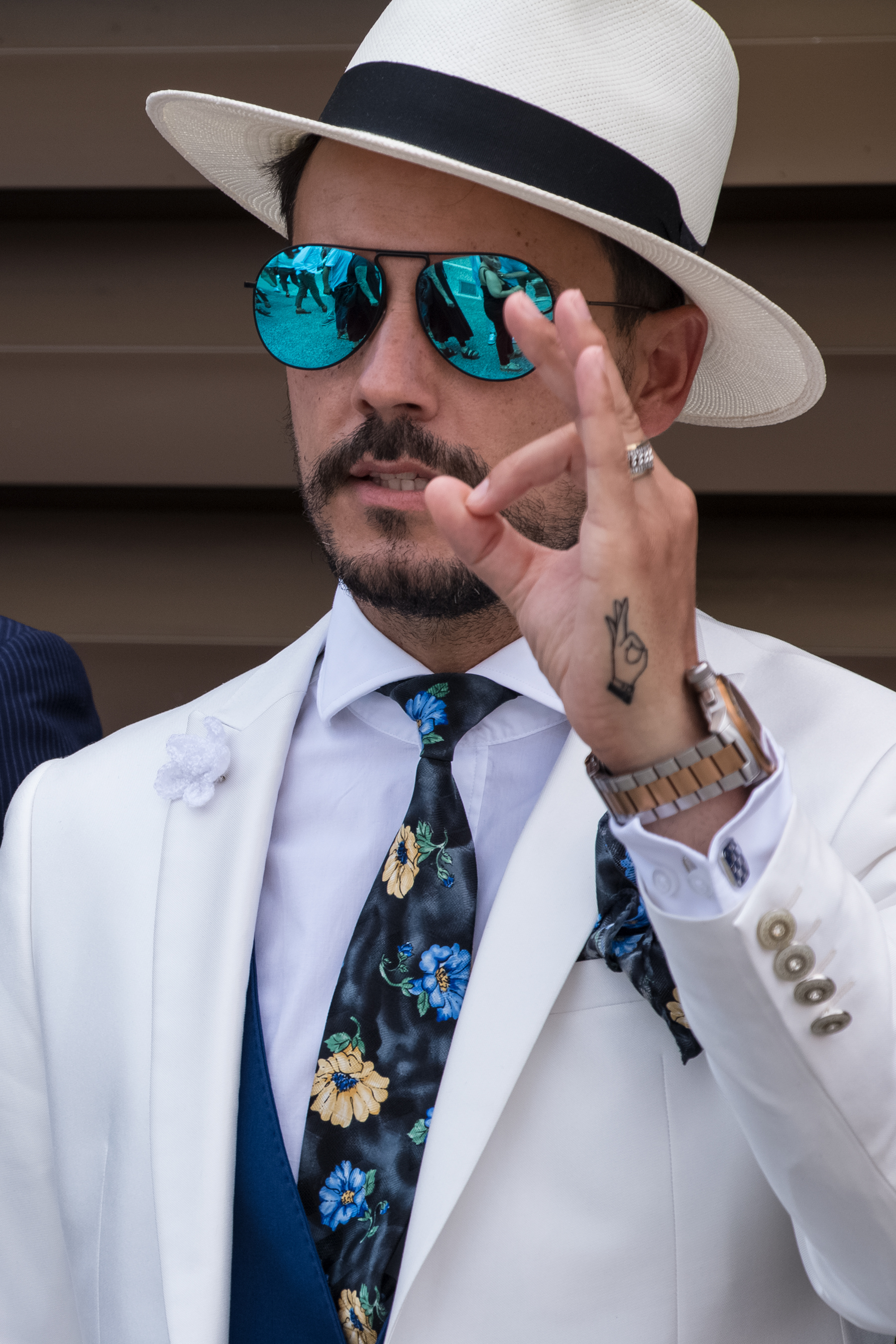 Firenze Pitti Uomo Fashion Week Men's Street Style Spring 2018 by Poli Alexeeva