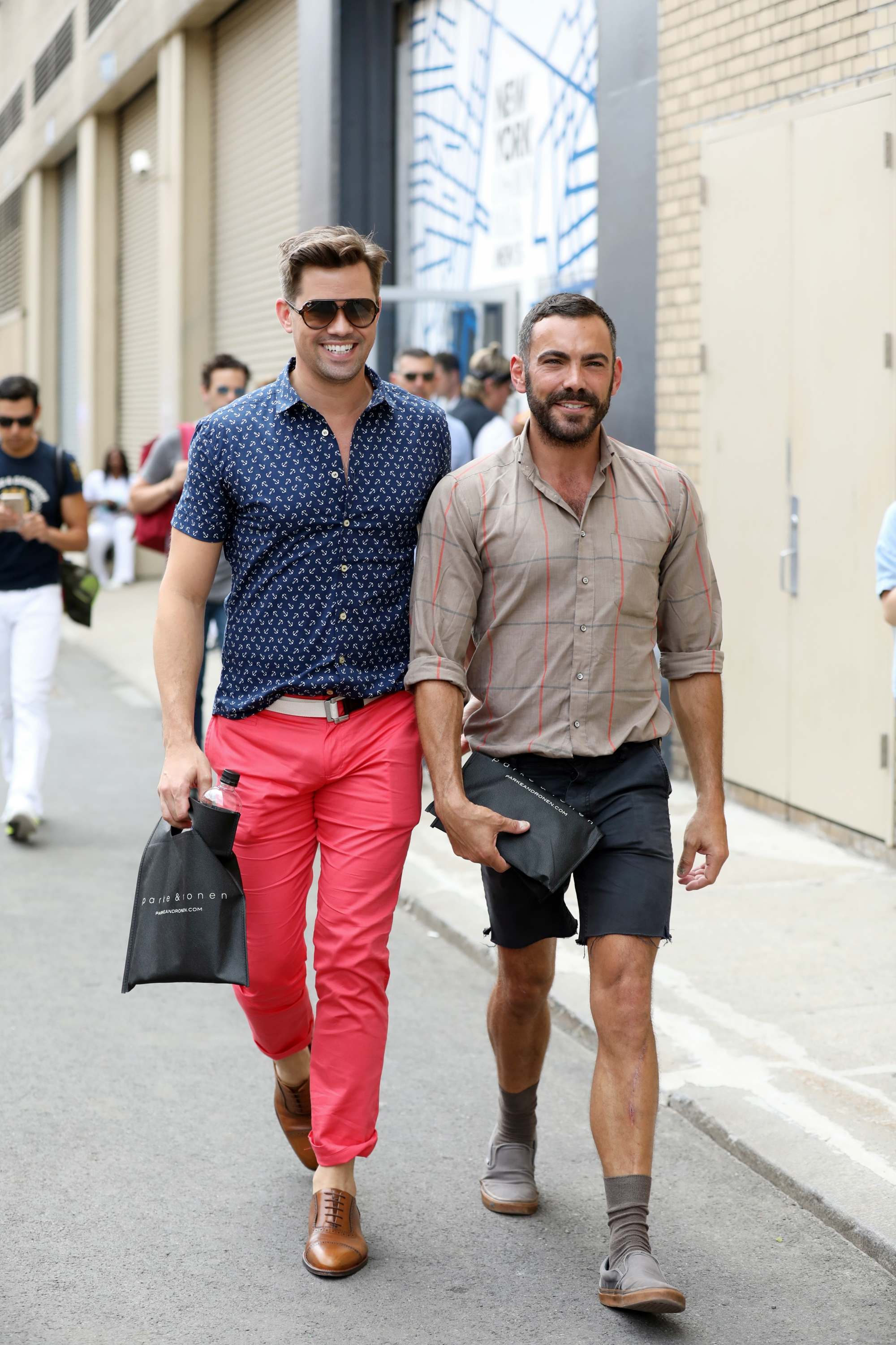 New York Fashion Week Men S Street Style Spring 2018 Day 3 Cont