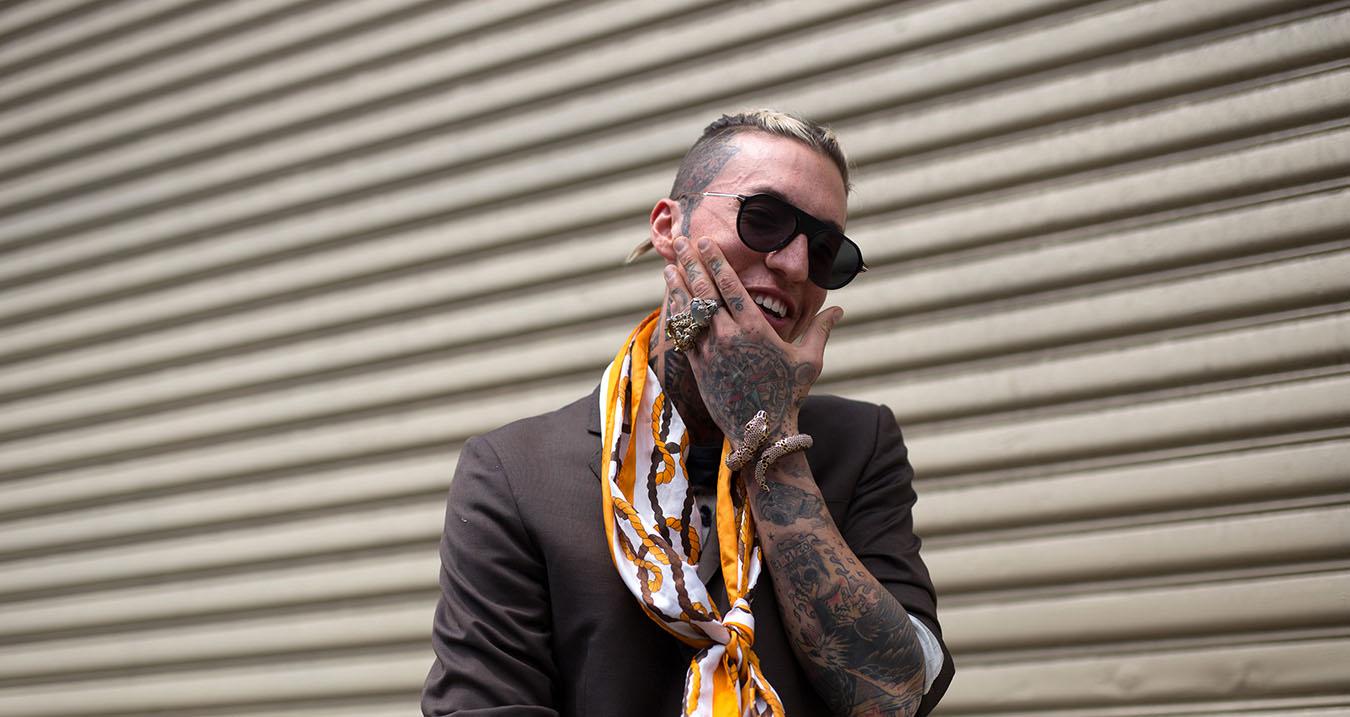 New York Fashion Week Men's Street Style Spring 2018 Day 2