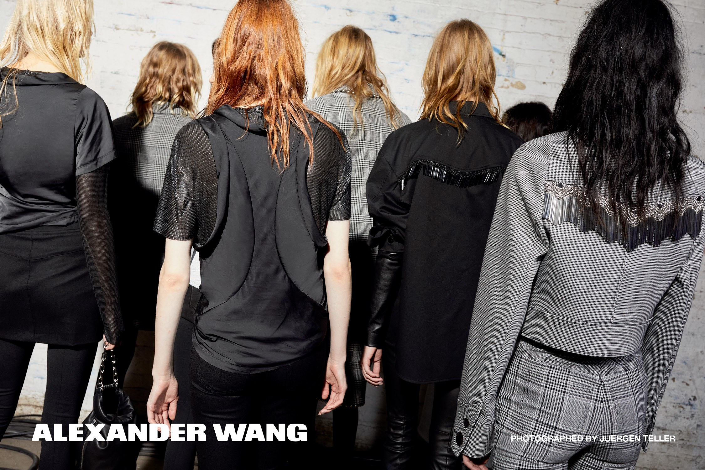 Alexander Wang Fall 2017 #NOAFTERPARTY Ad Campaign