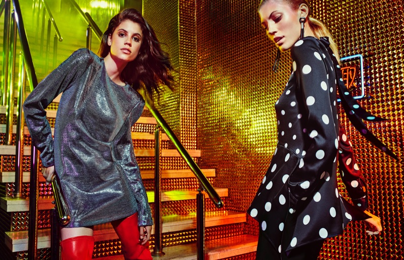 H&M 80's Nostalgia in Tokyo for Fall 2017 Ad Campaign starring Naomi Campbell