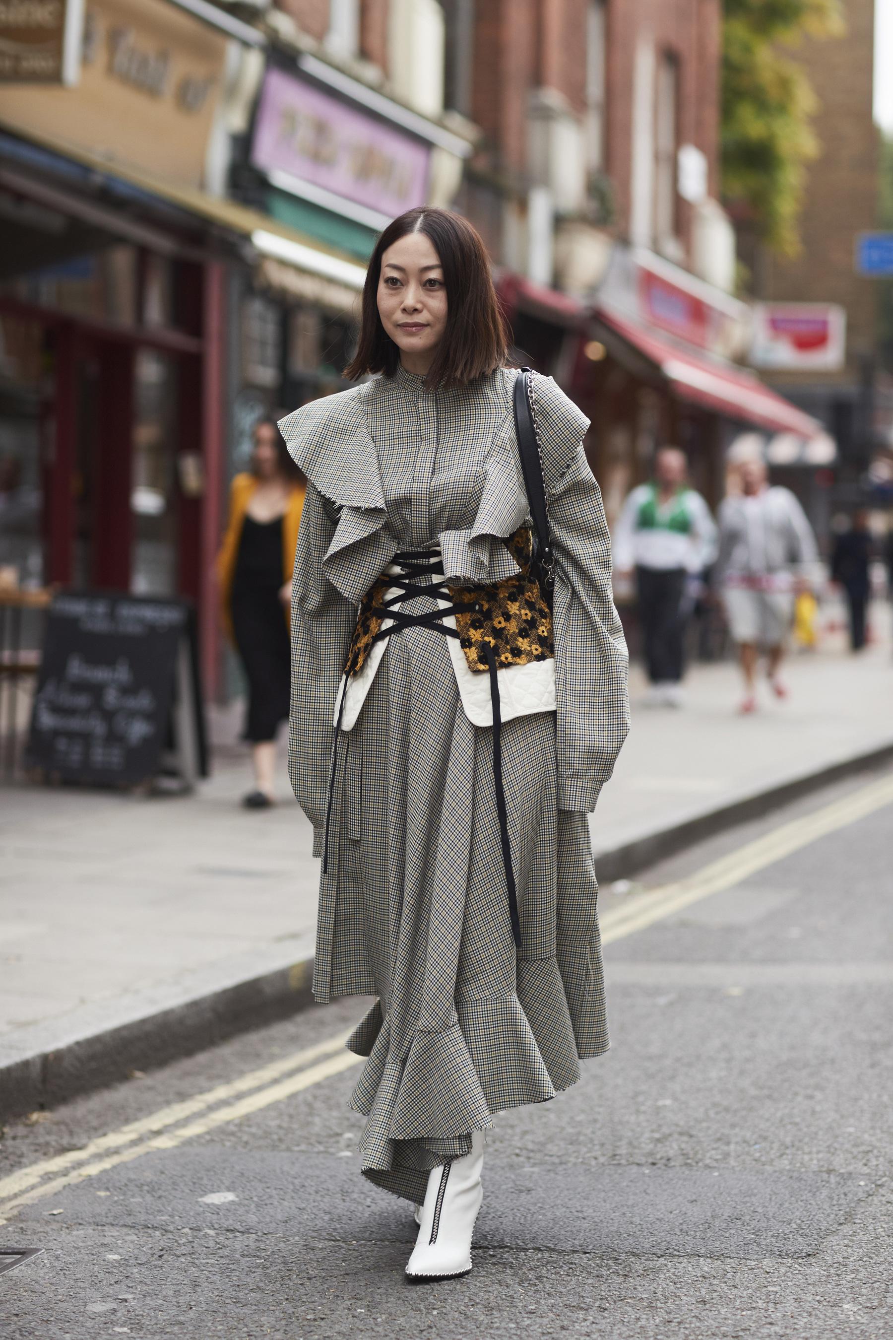 London Fashion Week Street Style Spring 2018 Day 2