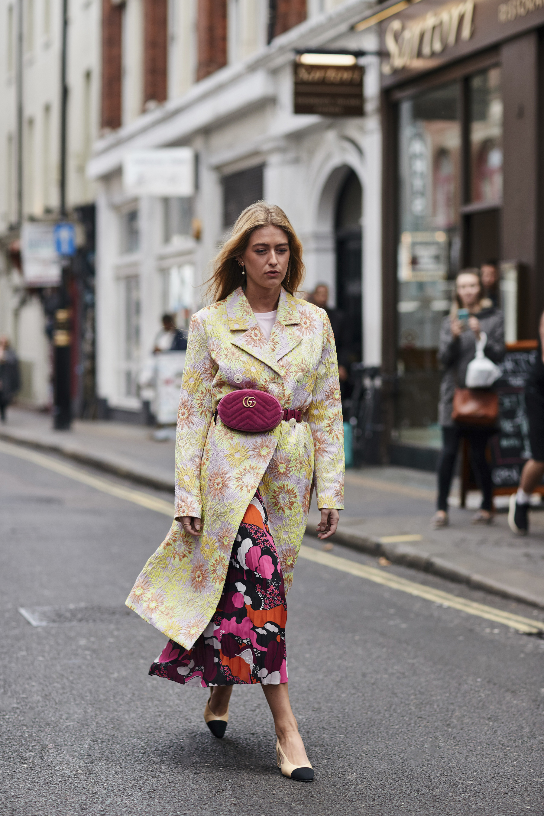 London Fashion Week Street Style Spring 2018 Day 3 Cont.