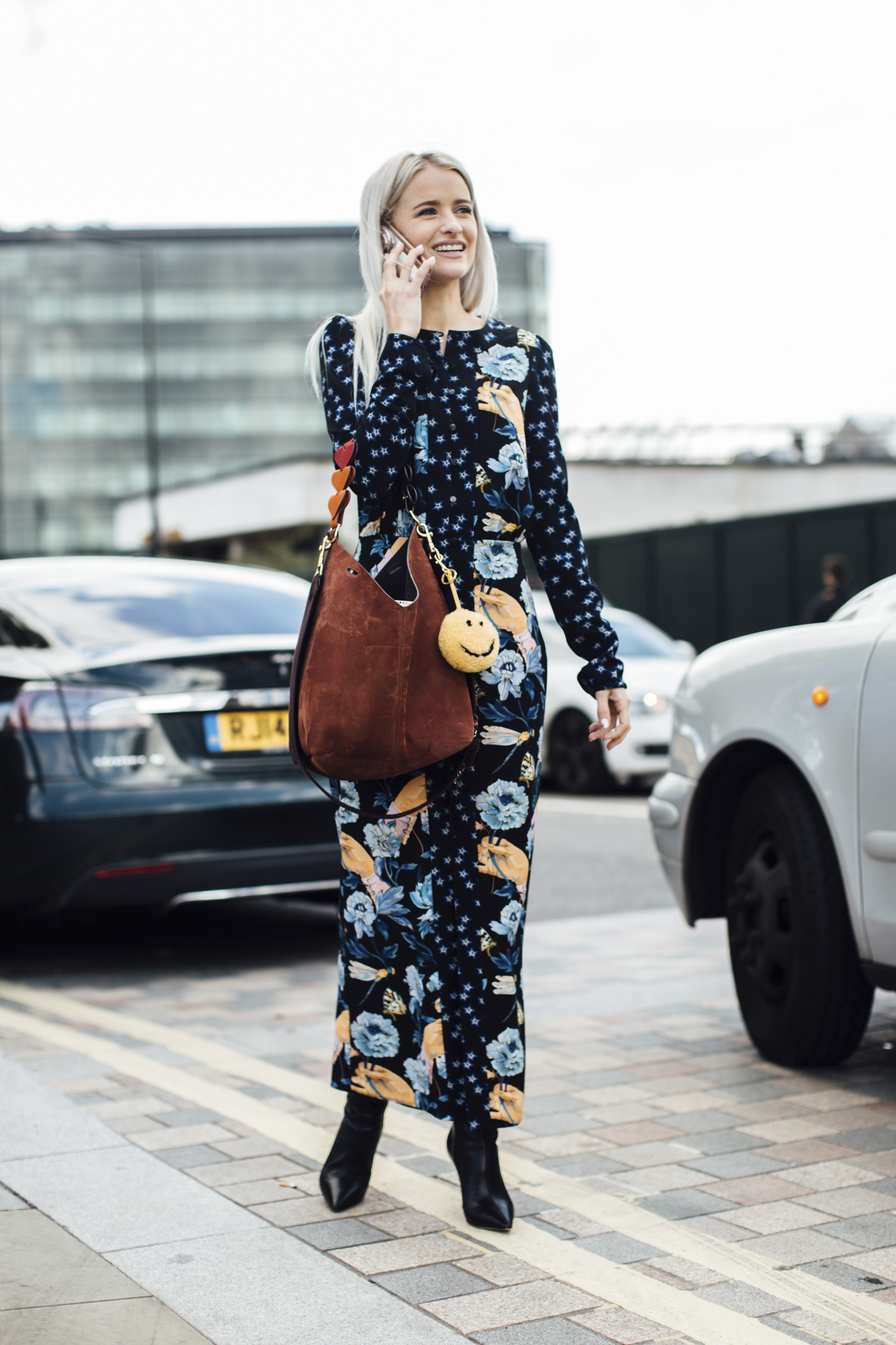 London Fashion Week Street Style Spring 2018 Day 3
