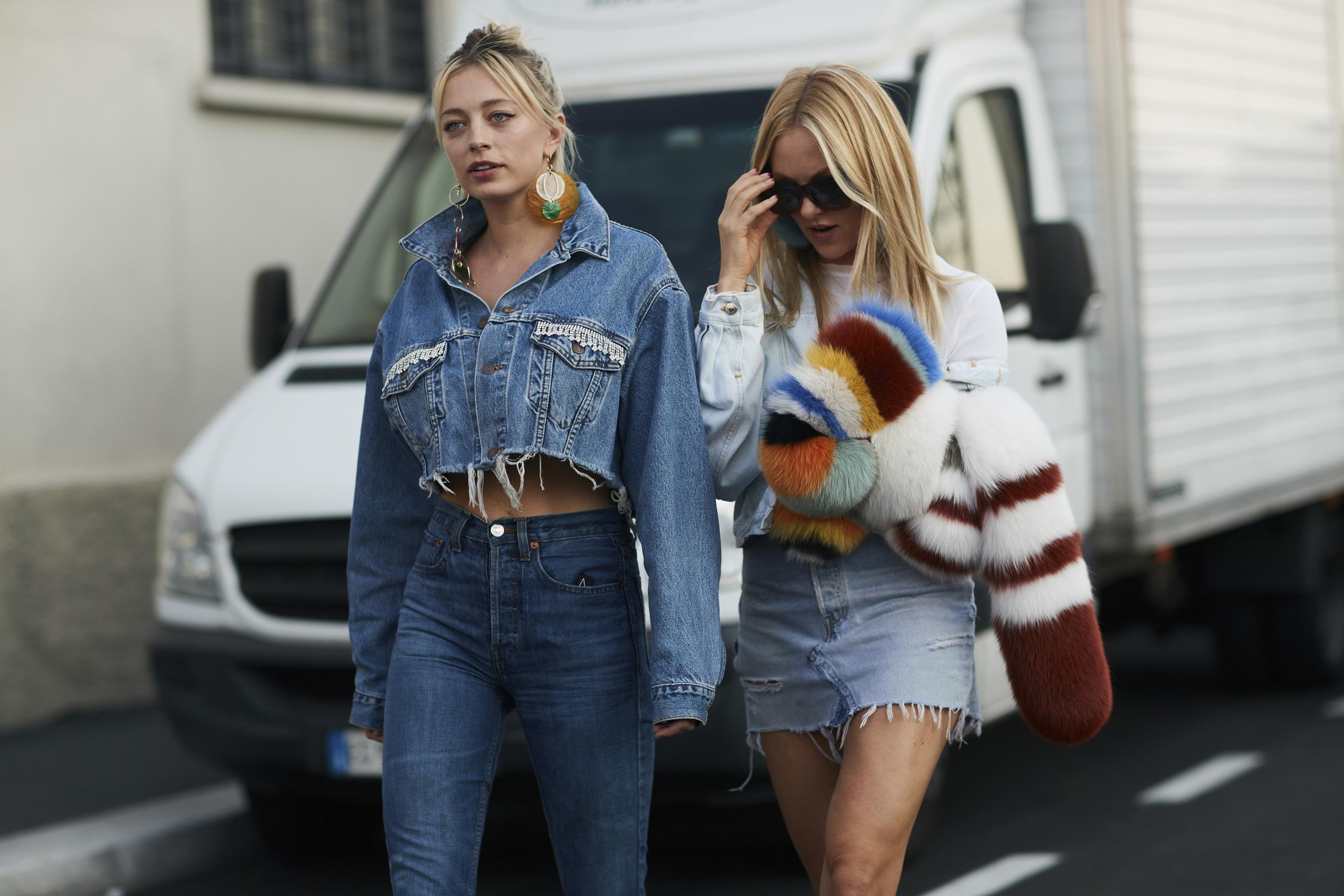Milan Fashion Week Street Style Spring 2018 Day 4 Cont.