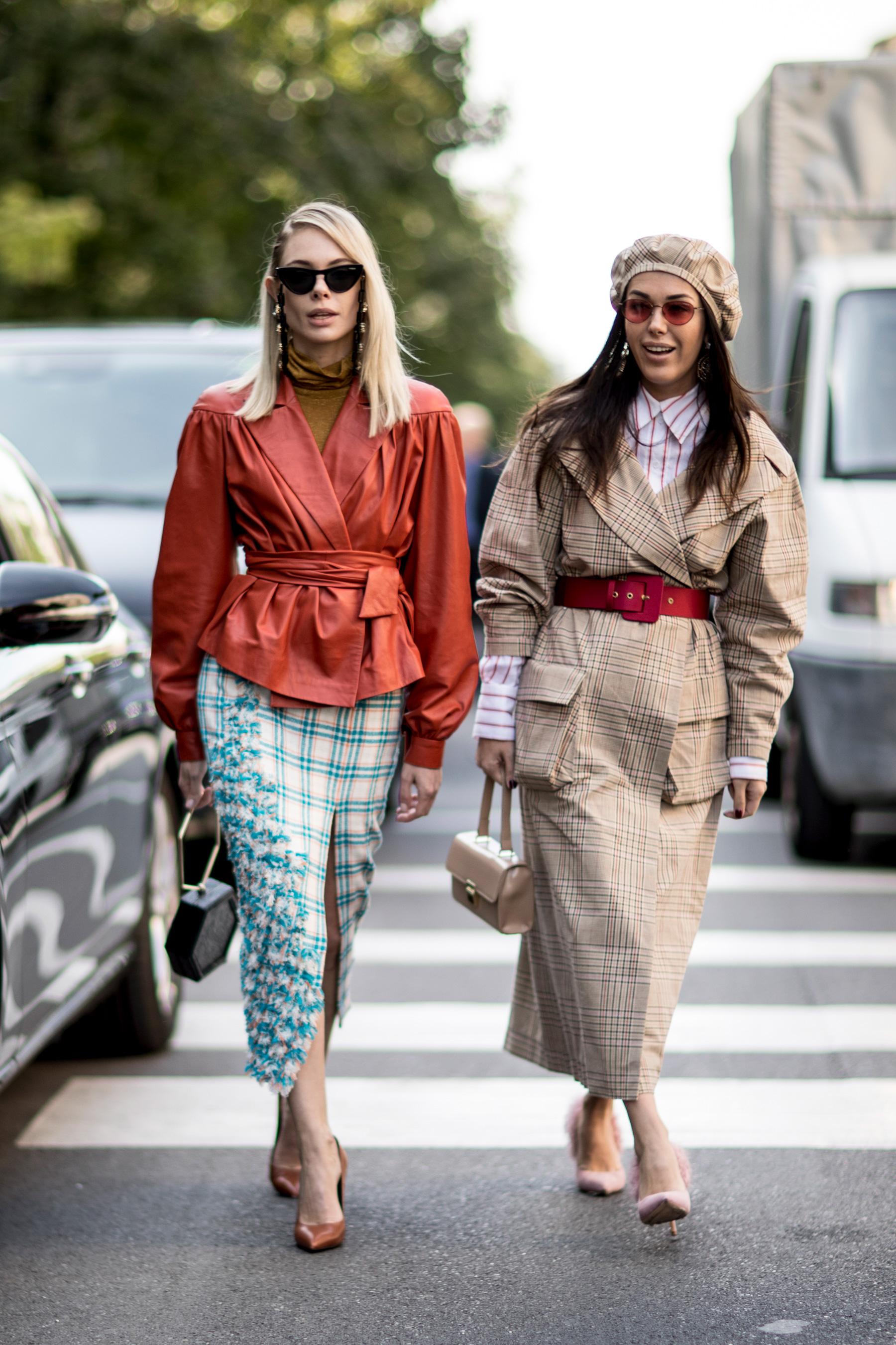 Milan Fashion Week Street Style Spring 2018 Day 3