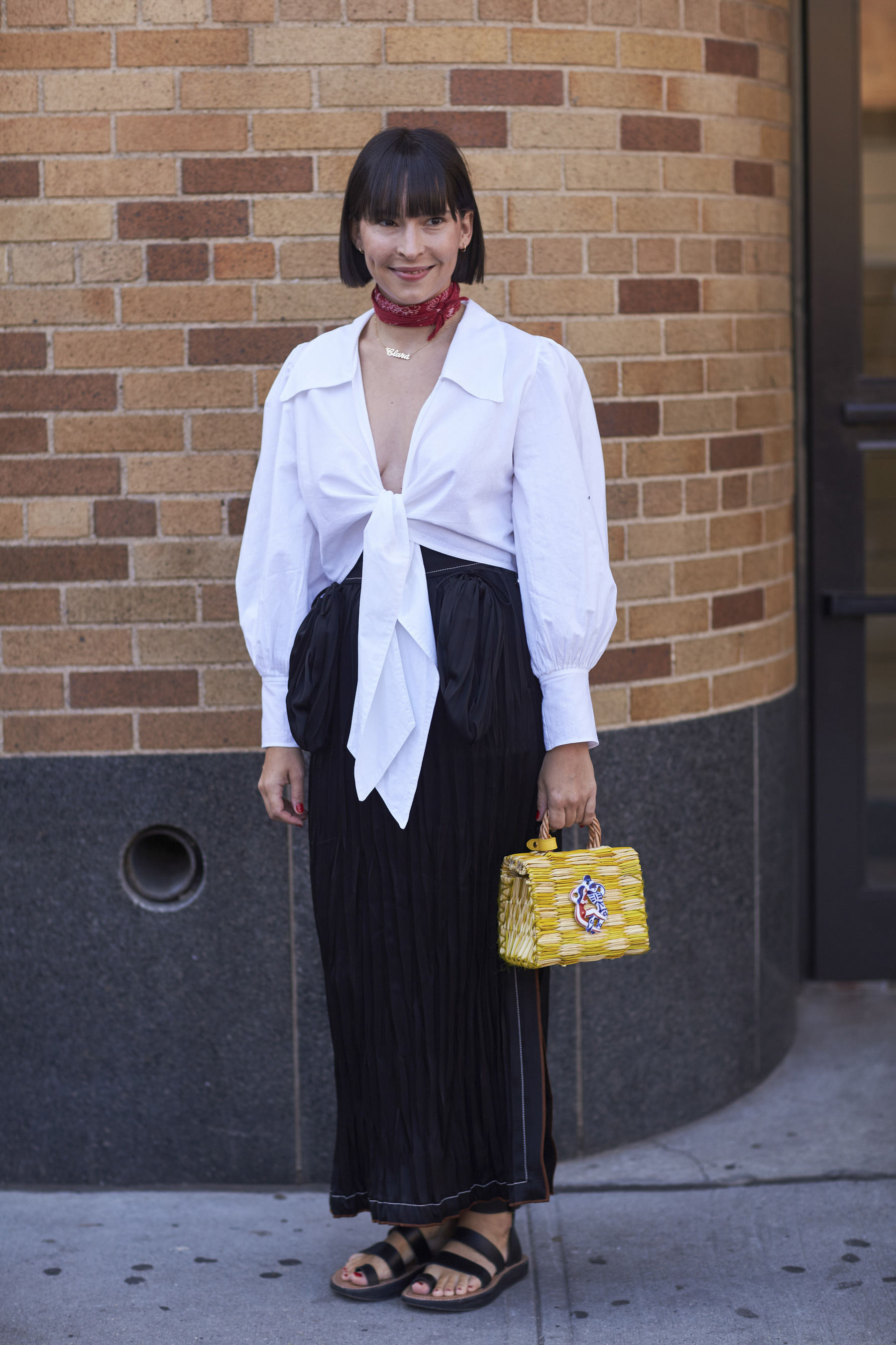 The Best Street Style from New York Fashion Week Street Style Spring 2018 Day 3 Cont.