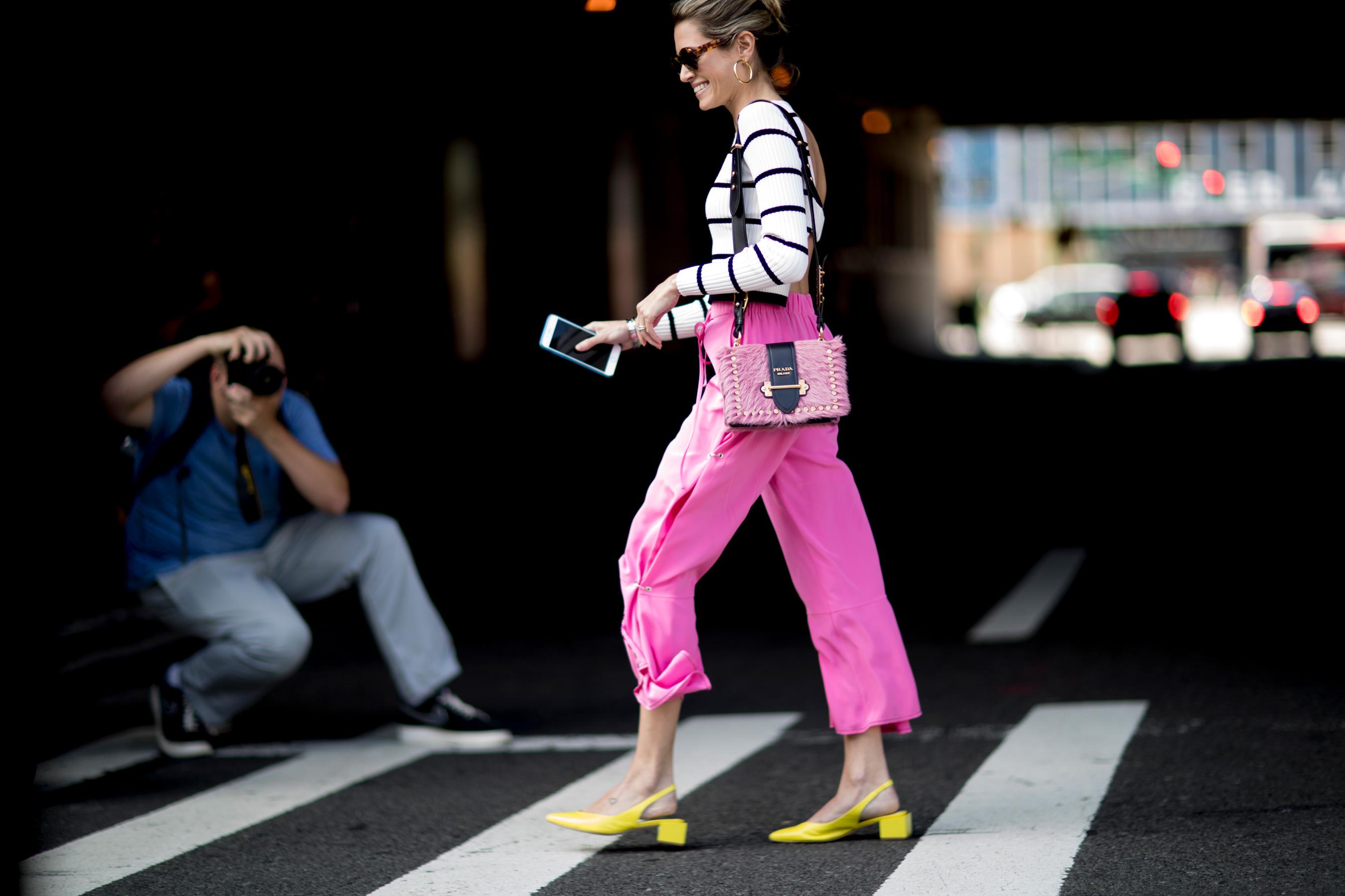 New York Fashion Week Street Style Spring 2018 Day 2