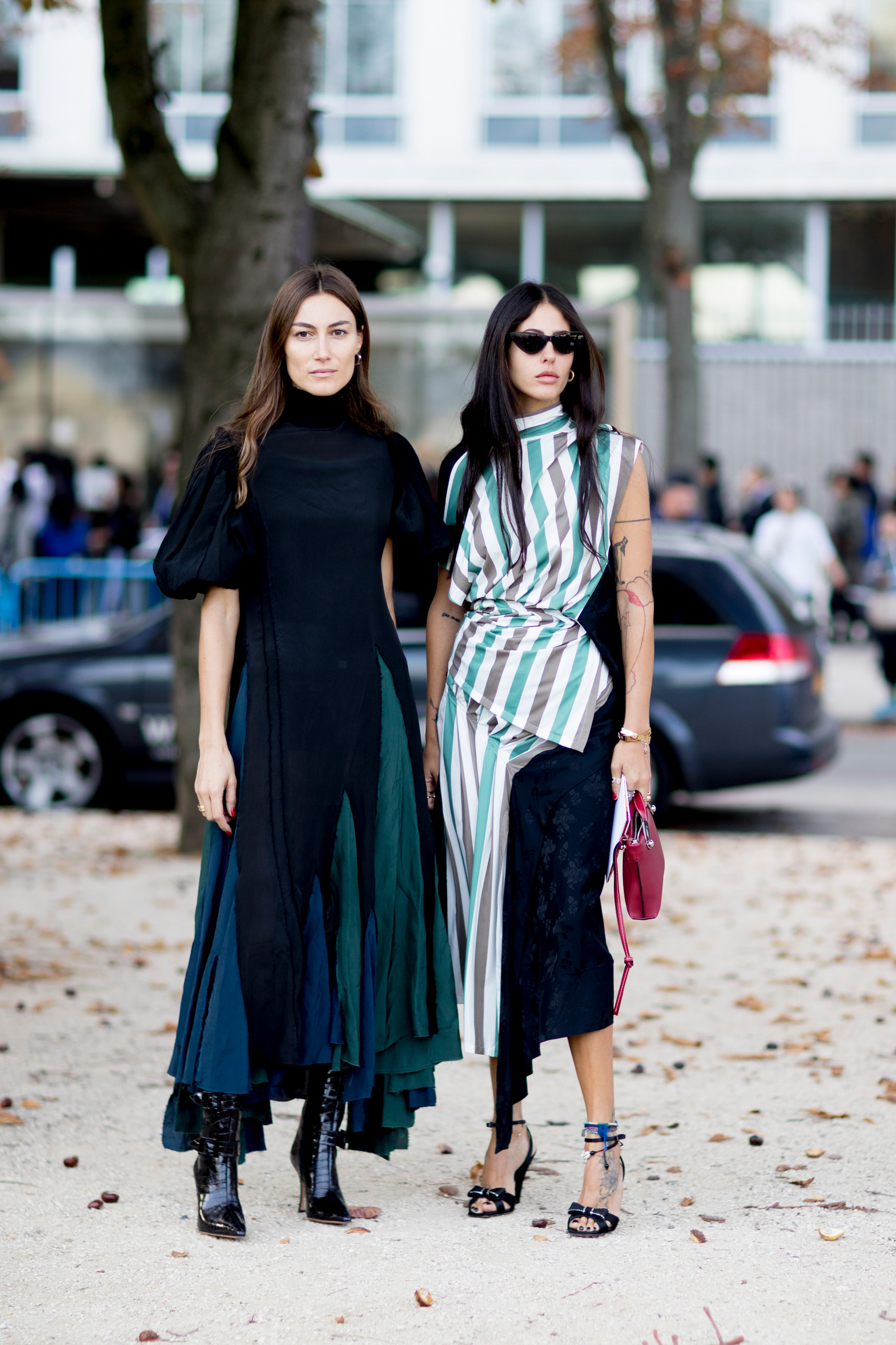 Paris Fashion Week Street Style Spring 2018 Day 4