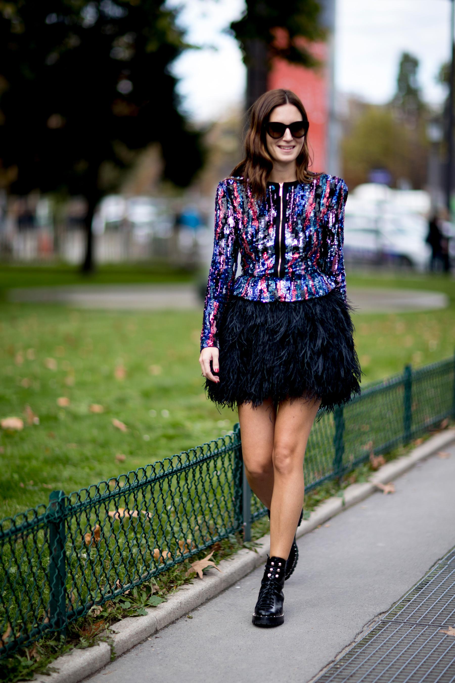 Paris Fashion Week Street Style Spring 2018 Day 5