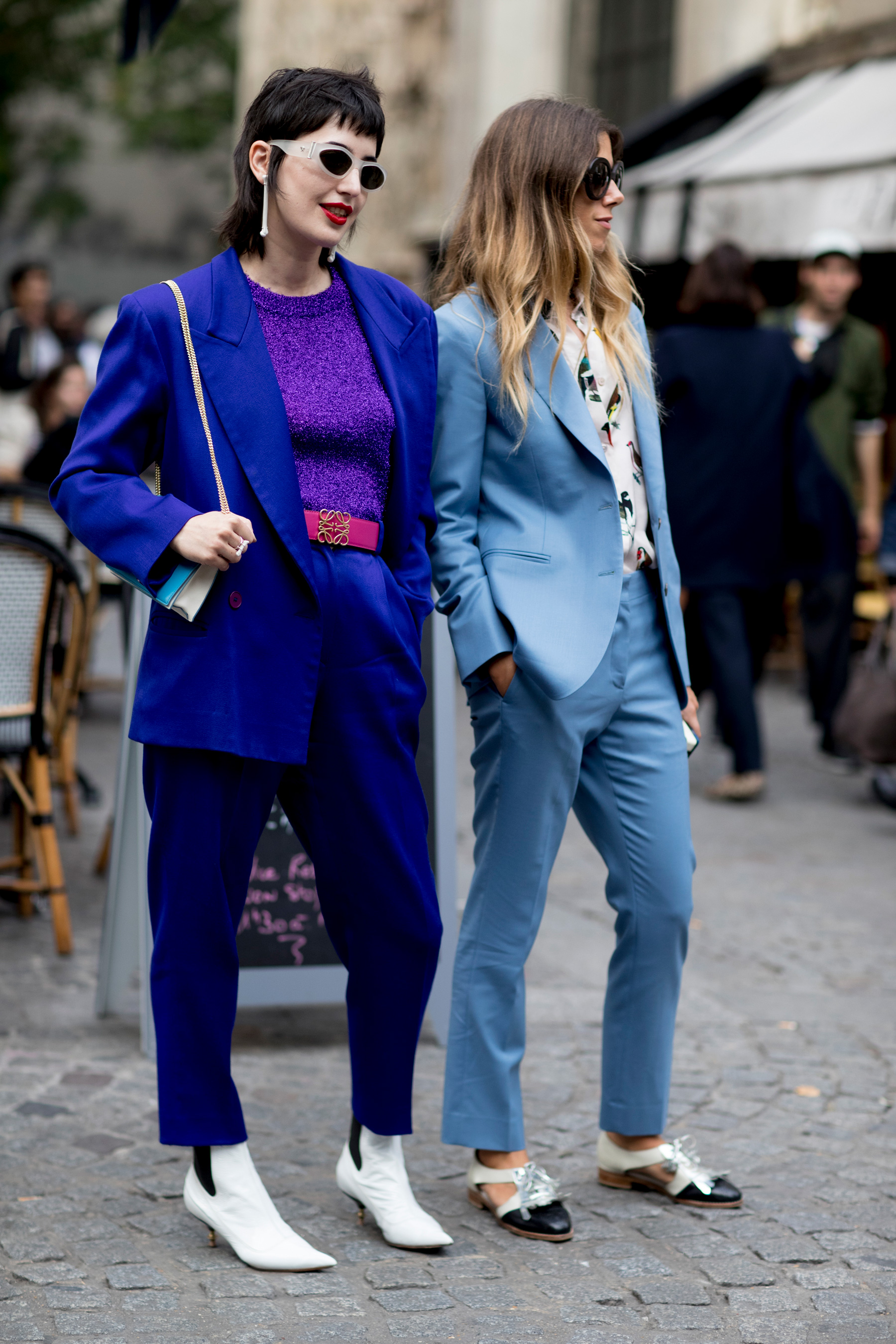 Paris Fashion Week Street Style Spring 2018 Day 1