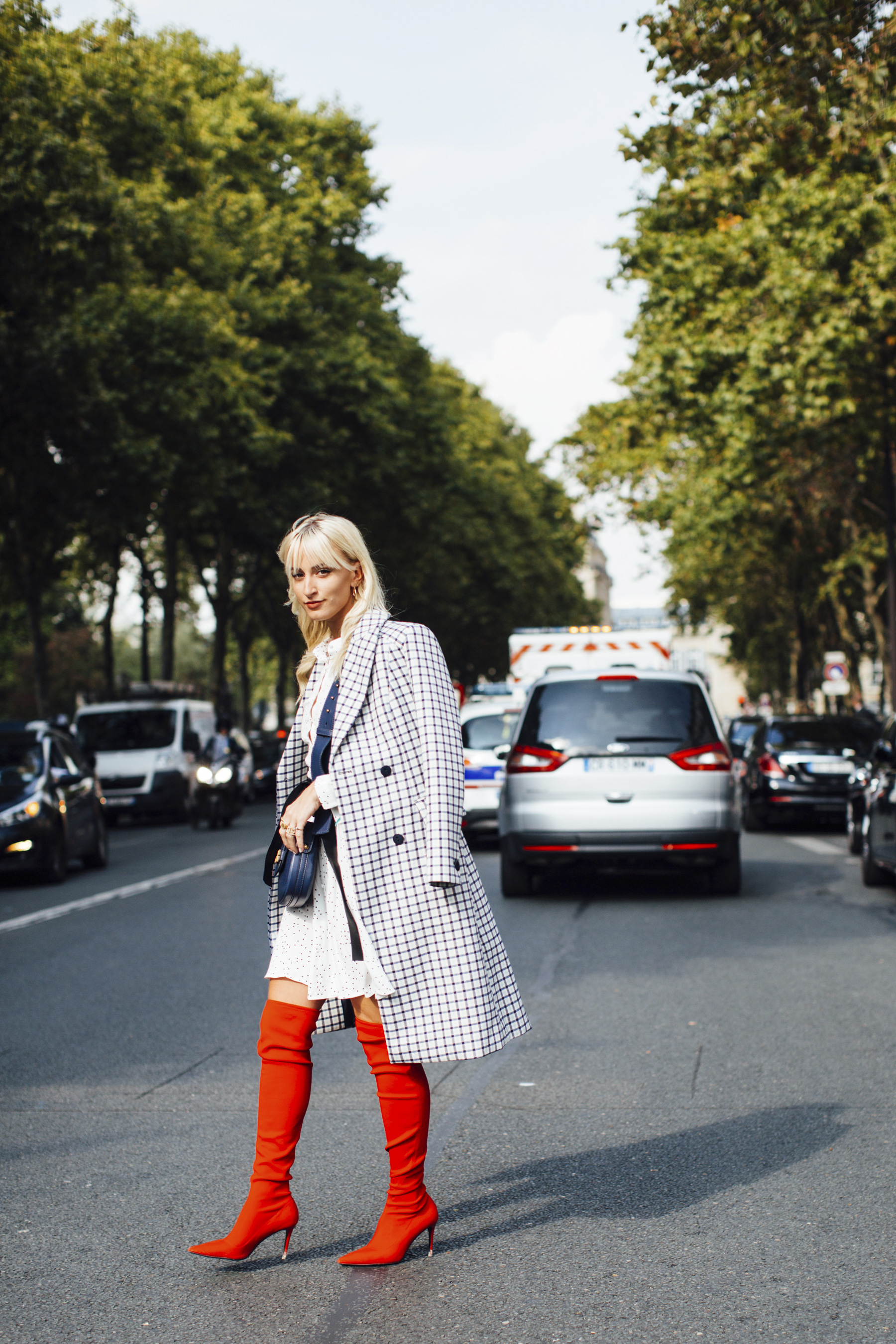Paris Fashion Week Street Style Spring 2018 Day 1 Cont.