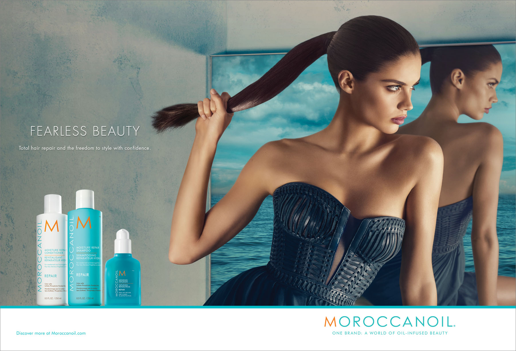 The latest in Fall 2017 Ad Campaign News - Moroccanoil, H&M, Cushnie et Ochs, Theory, Circus Hotel, Semicouture